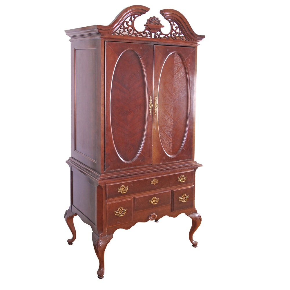 Federal Style Entertainment Cabinet