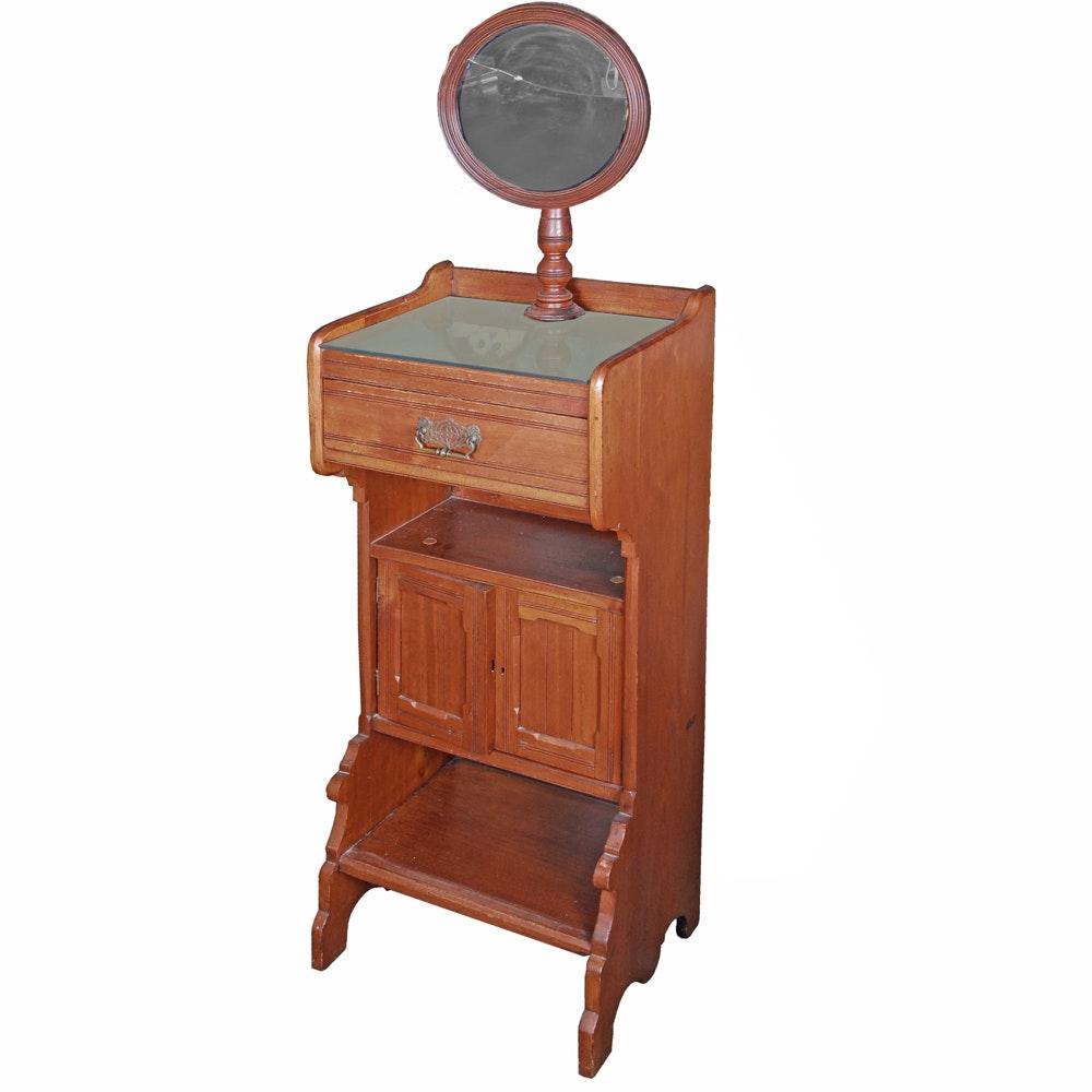 Antique Victorian Shaving Stand