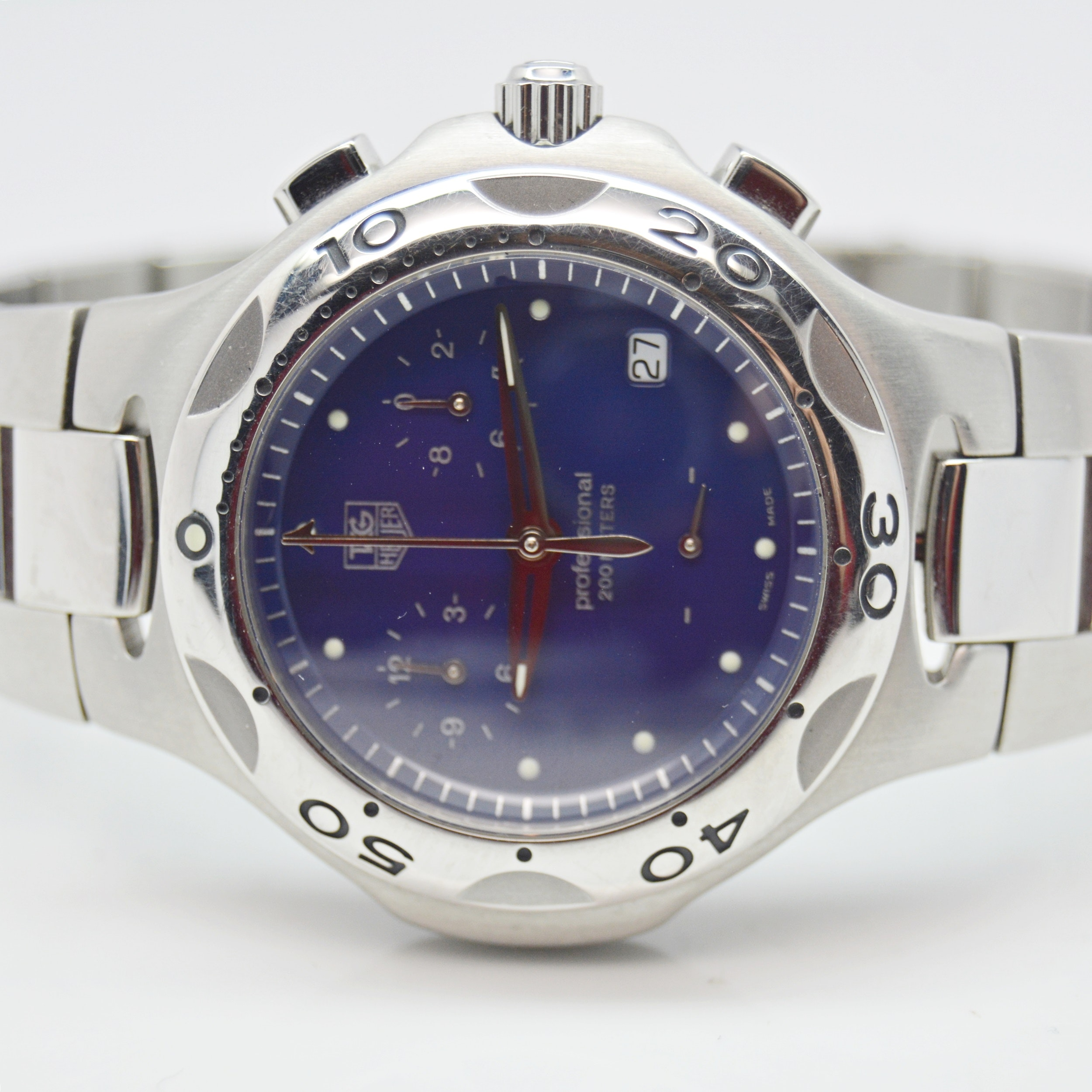 "TAG Heuer ""Kirium"" Stainless Steel Wristwatch"
