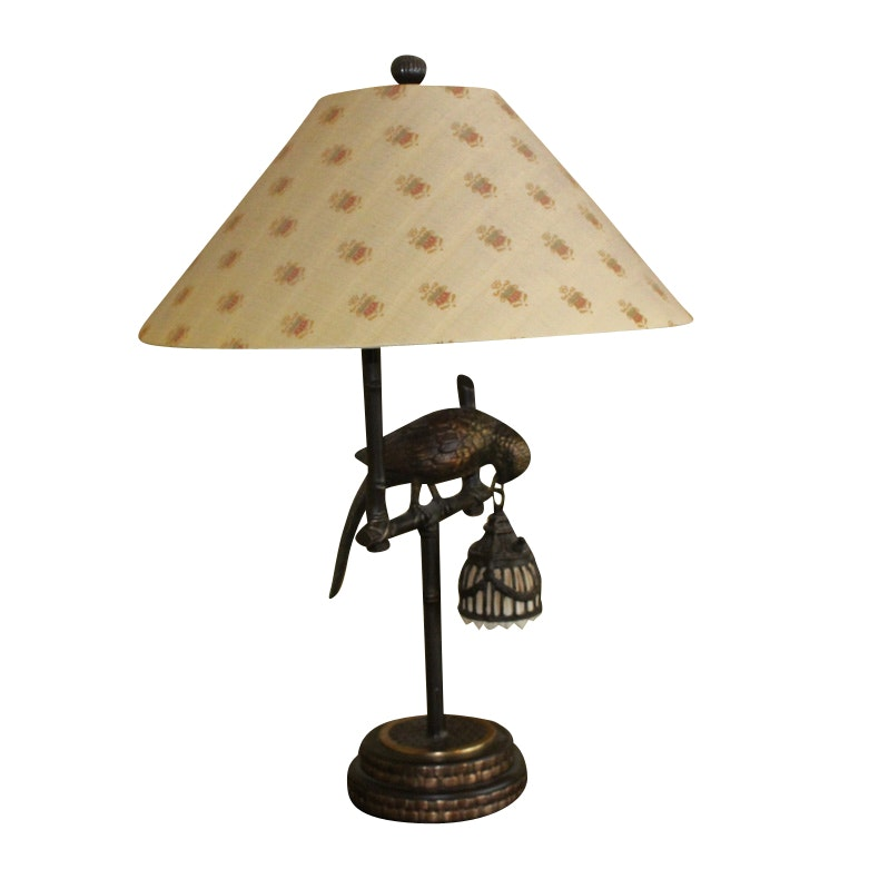 Parrot Figural Table Lamp ...