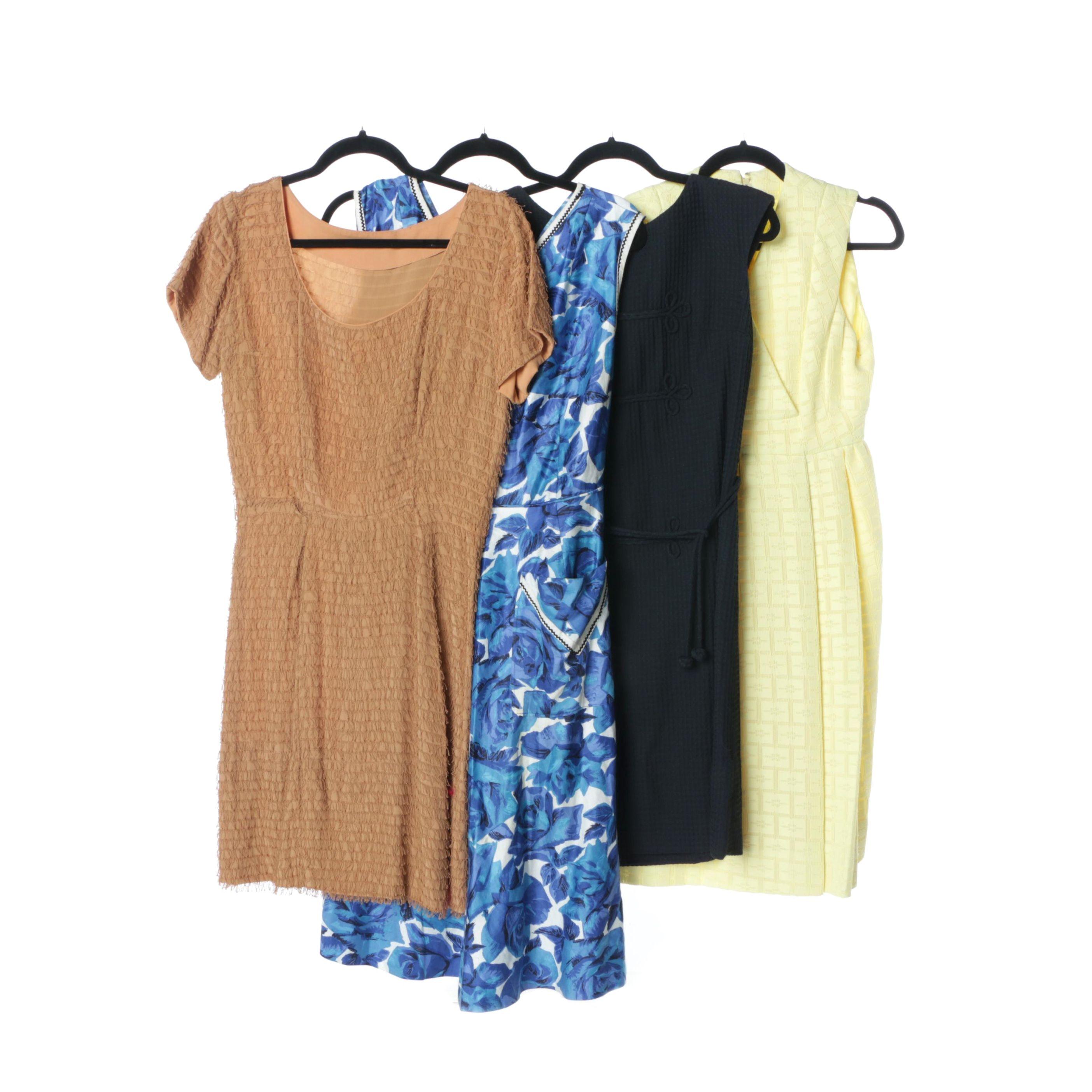 Mid-Century Vintage Summer Dresses Including Bullocks Wilshire