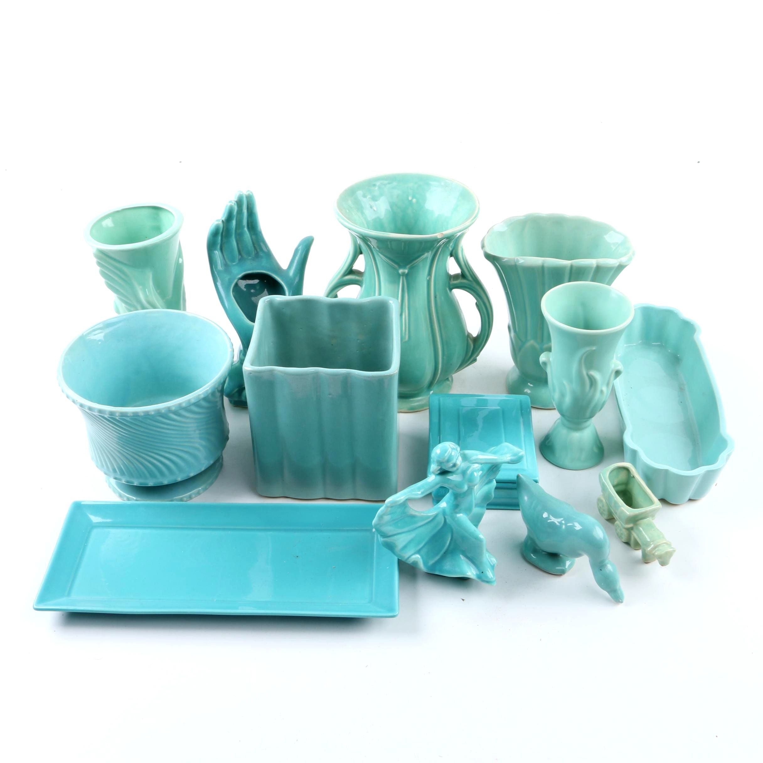 McCoy, Homer Laughlin, Metlox Poppy Trail Vases and Planters