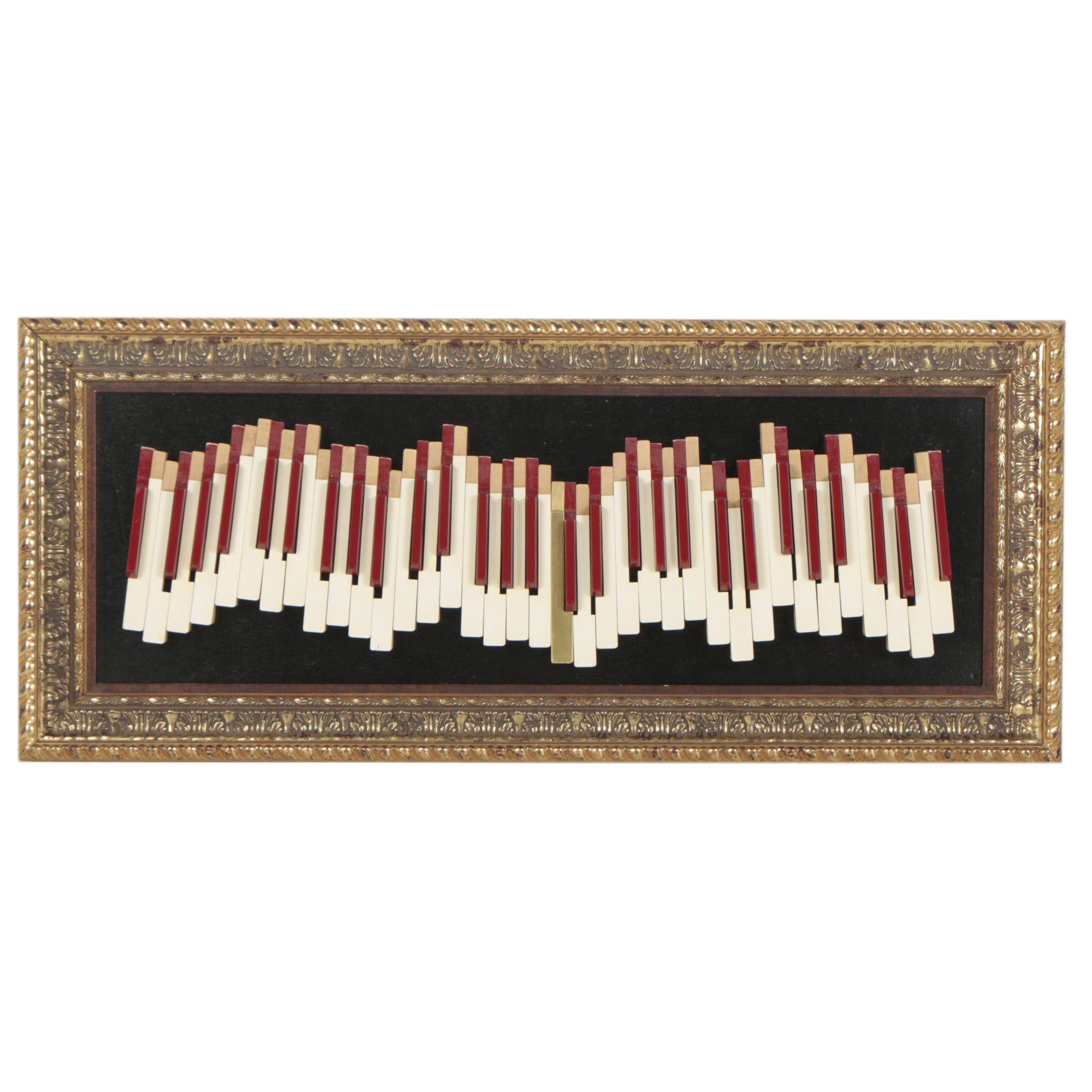 Decorative Piano Key Art