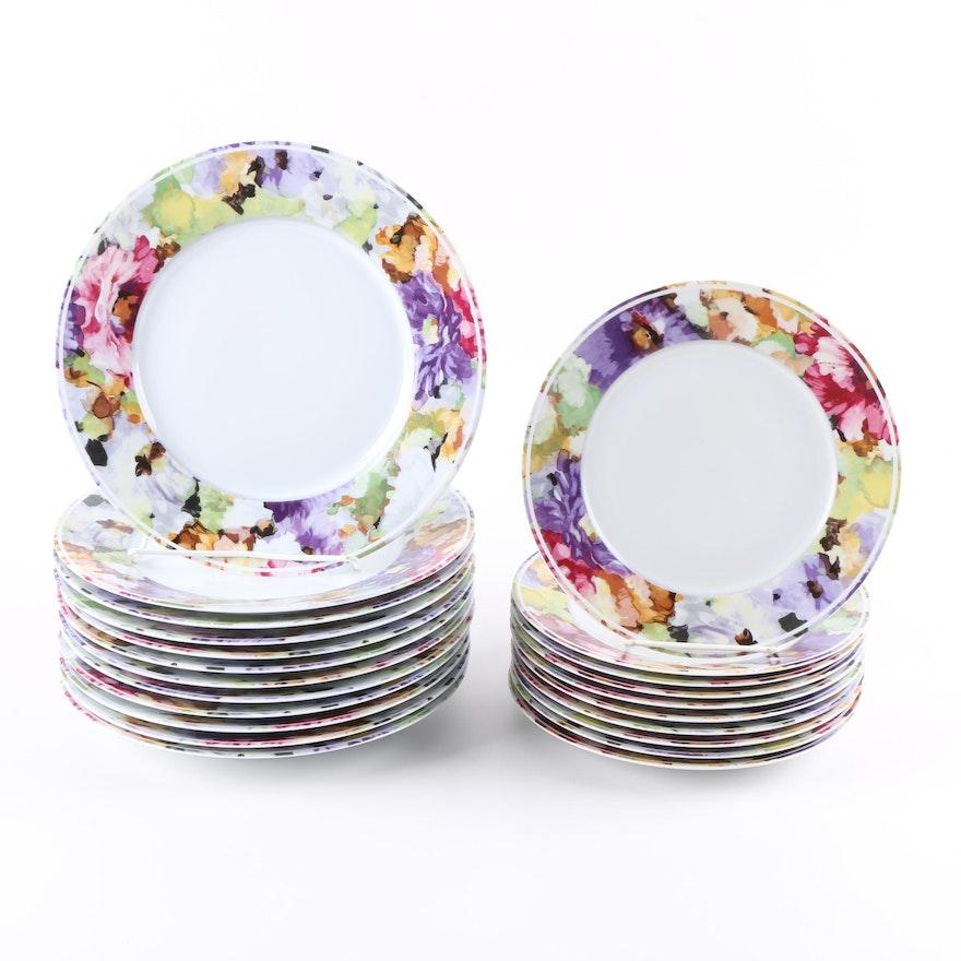 """Philippe Deshoulieres """"Alhambra"""" Limoges Porcelain Plates"""