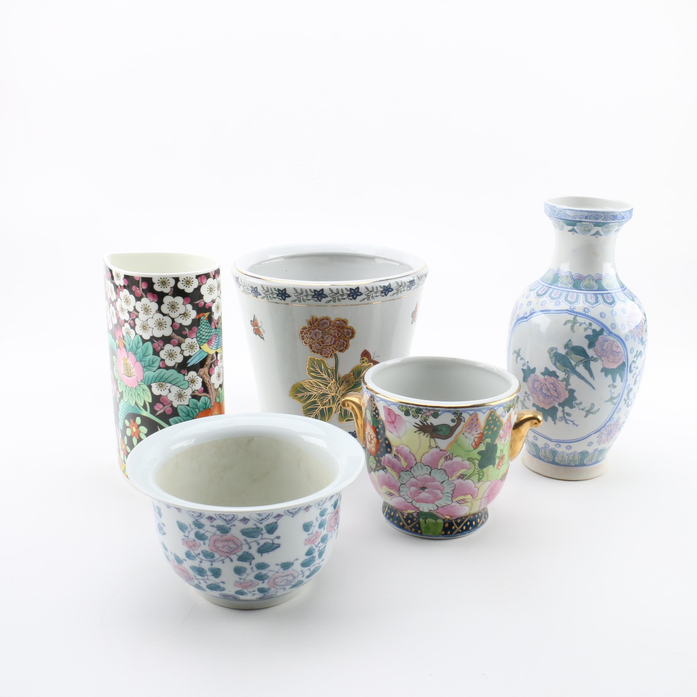 Mikasa, Andrea by Sadek and Assorted Planters