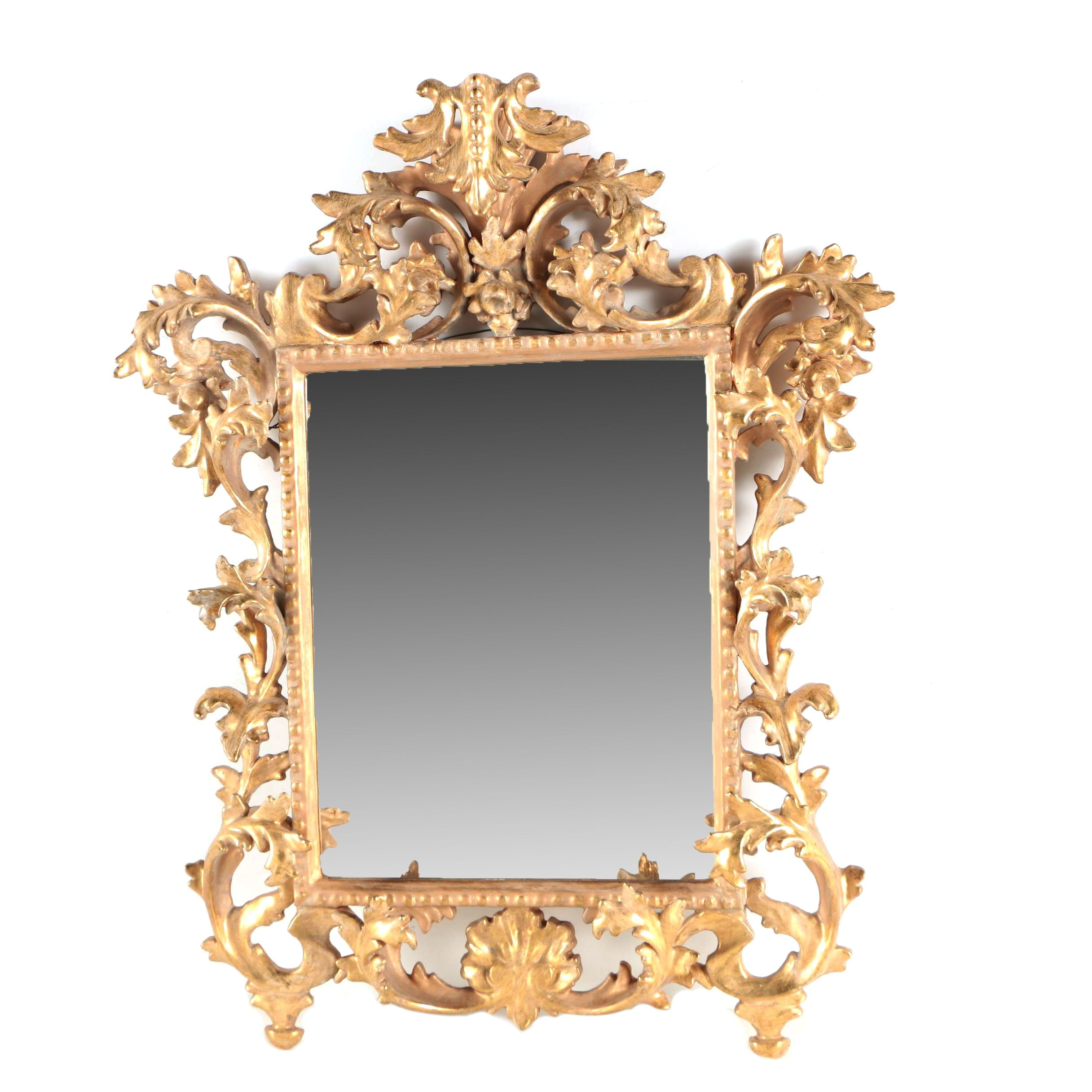 Contemporary Baroque Style Wall Mirror