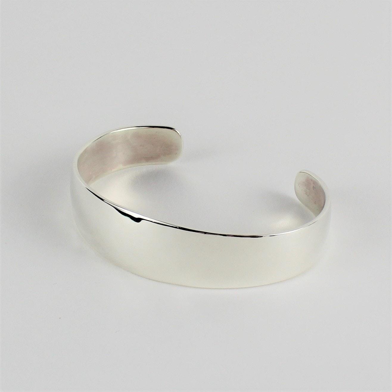 Ann Curley Navajo Sterling Silver Cuff Bracelet