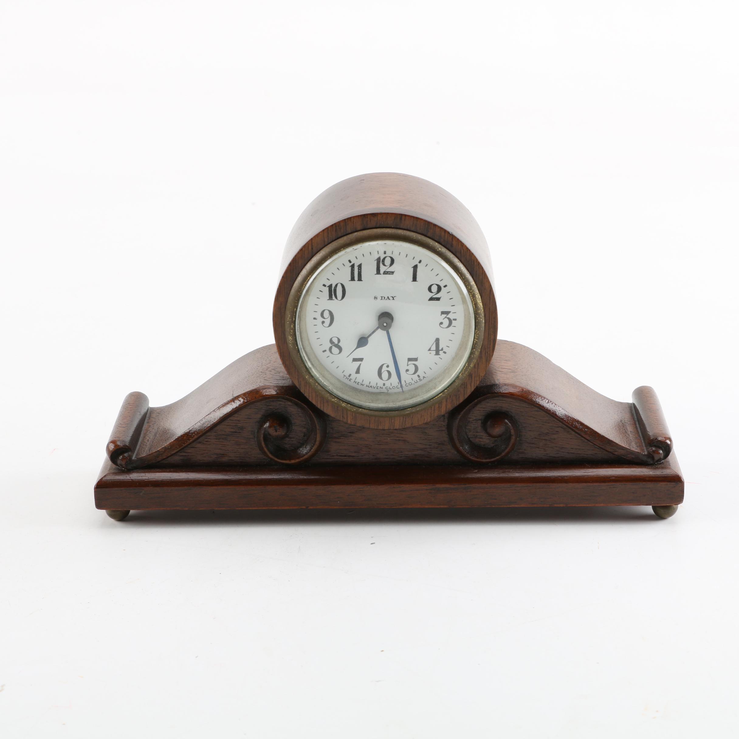 Vintage New Haven Clock Co. Mantel Clock