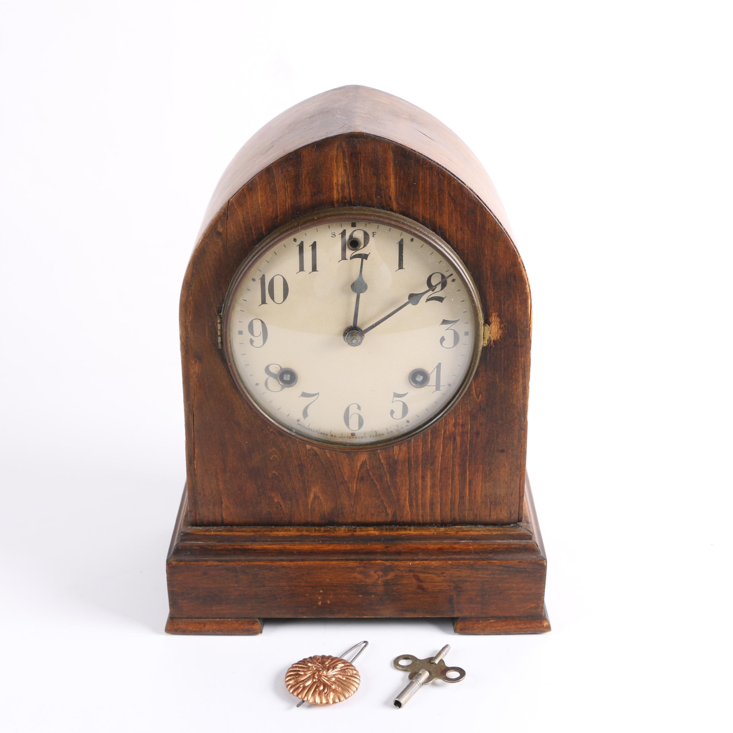 Early 20th Century Waterbury Clock Co. Mantel Clock