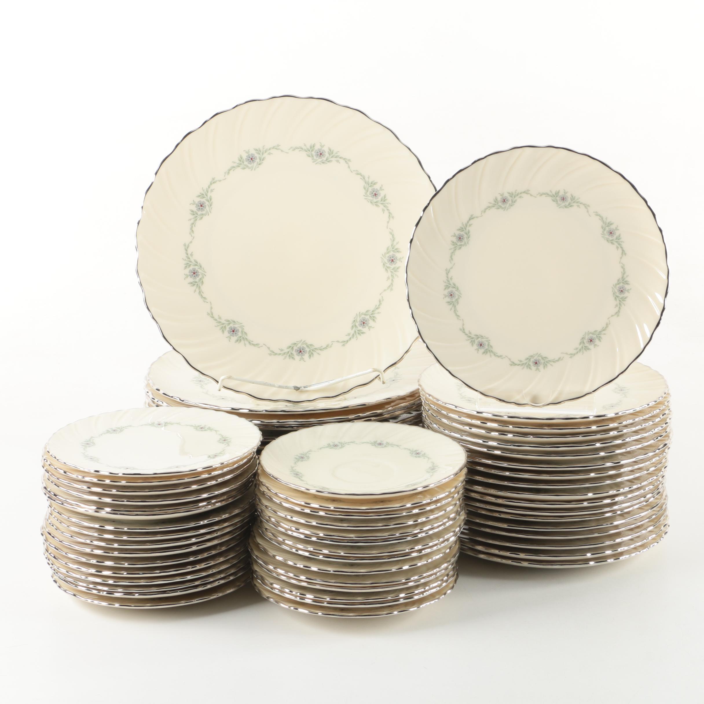 """Lenox """"Musette"""" Tableware, Circa 1961-1982"""