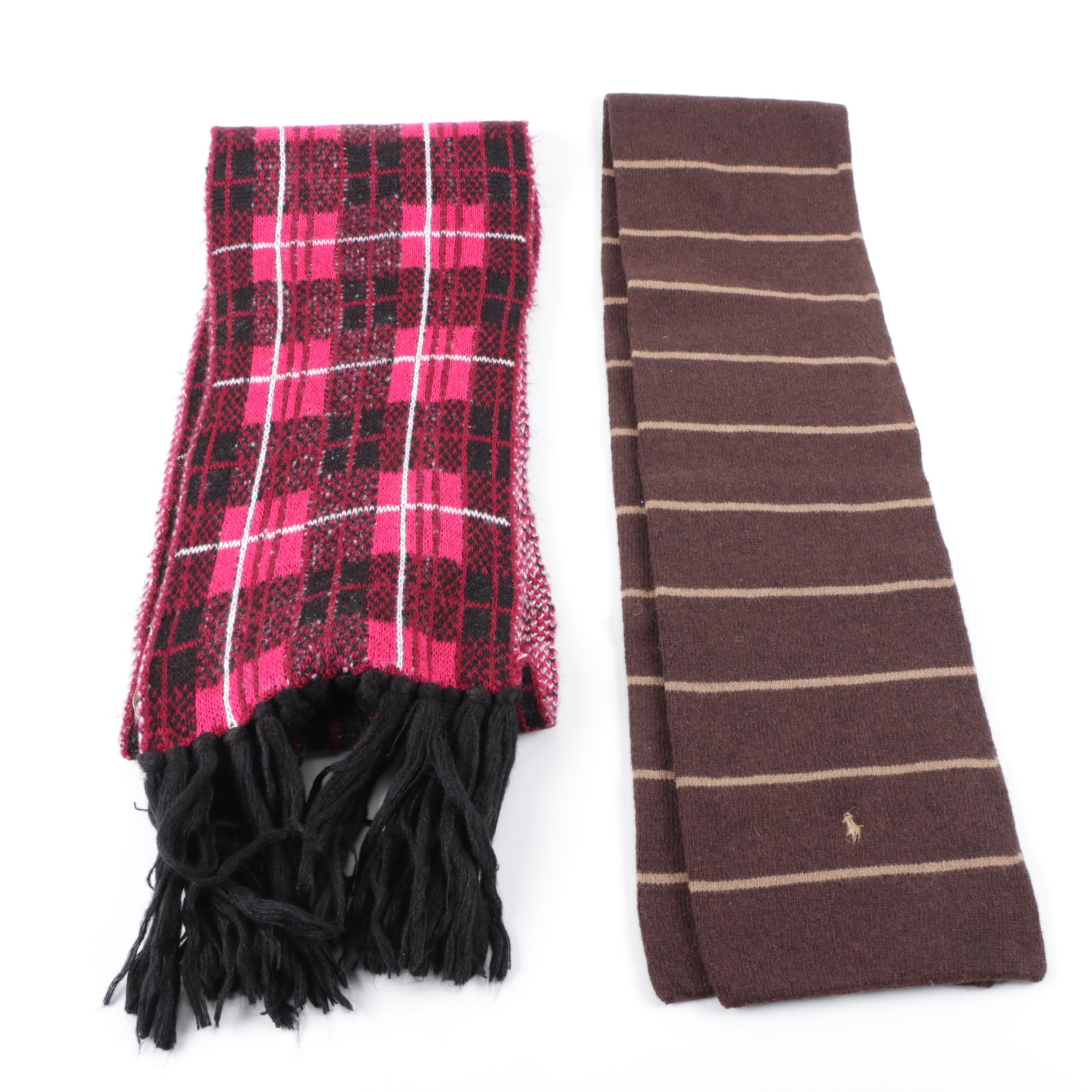 Winter Scarves Including Polo Ralph Lauren and Kate Spade New York