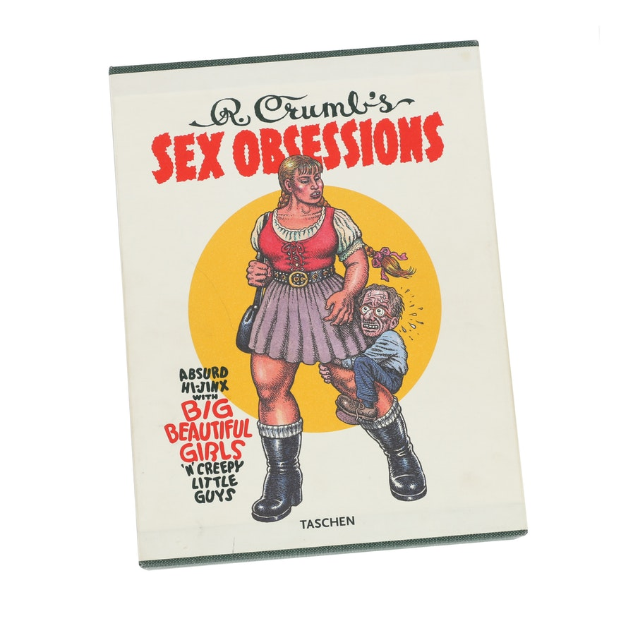 """Robert Crumb Book """"Sex Obsessions"""" and Limited Edition Print"""