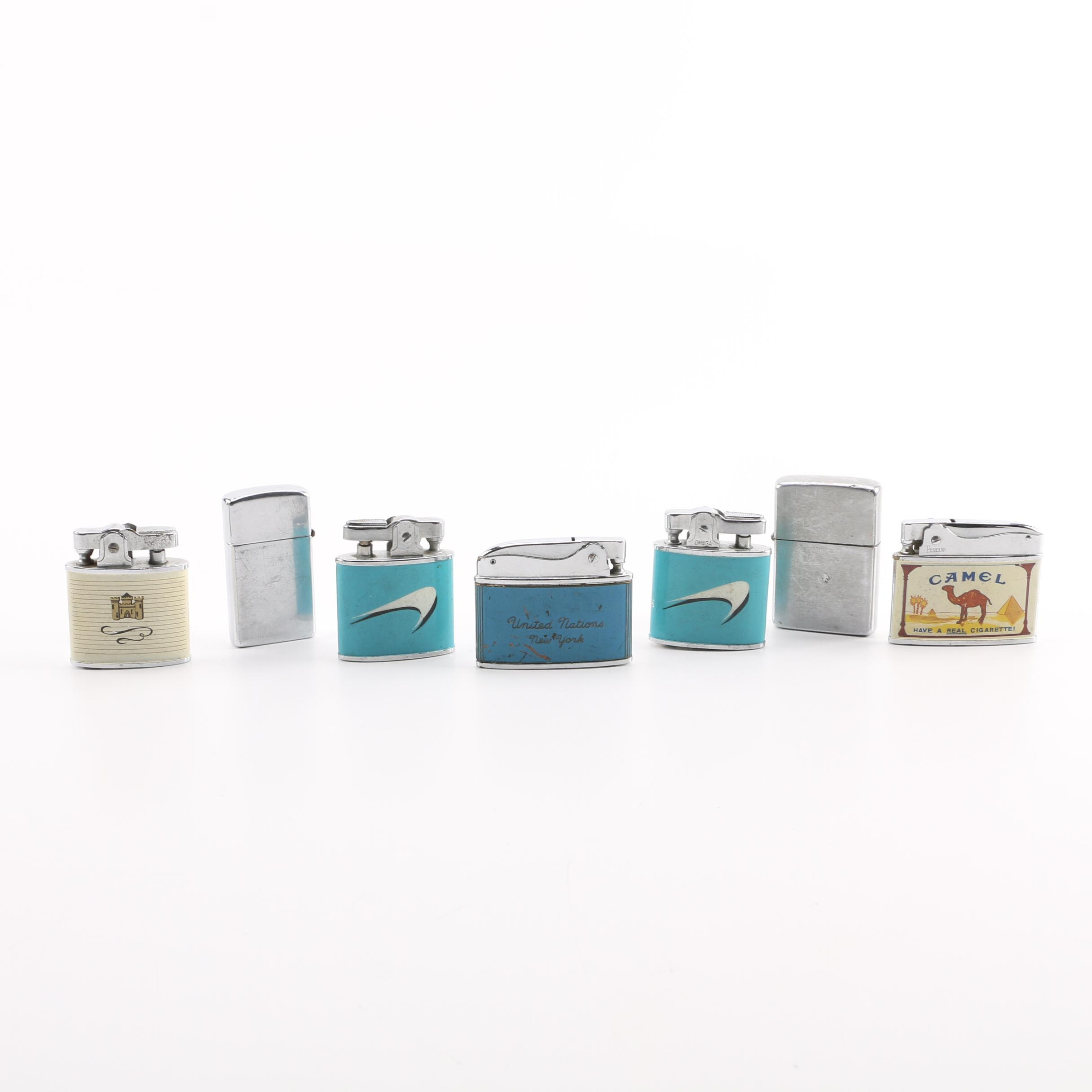 Collection of Vintage Lighters