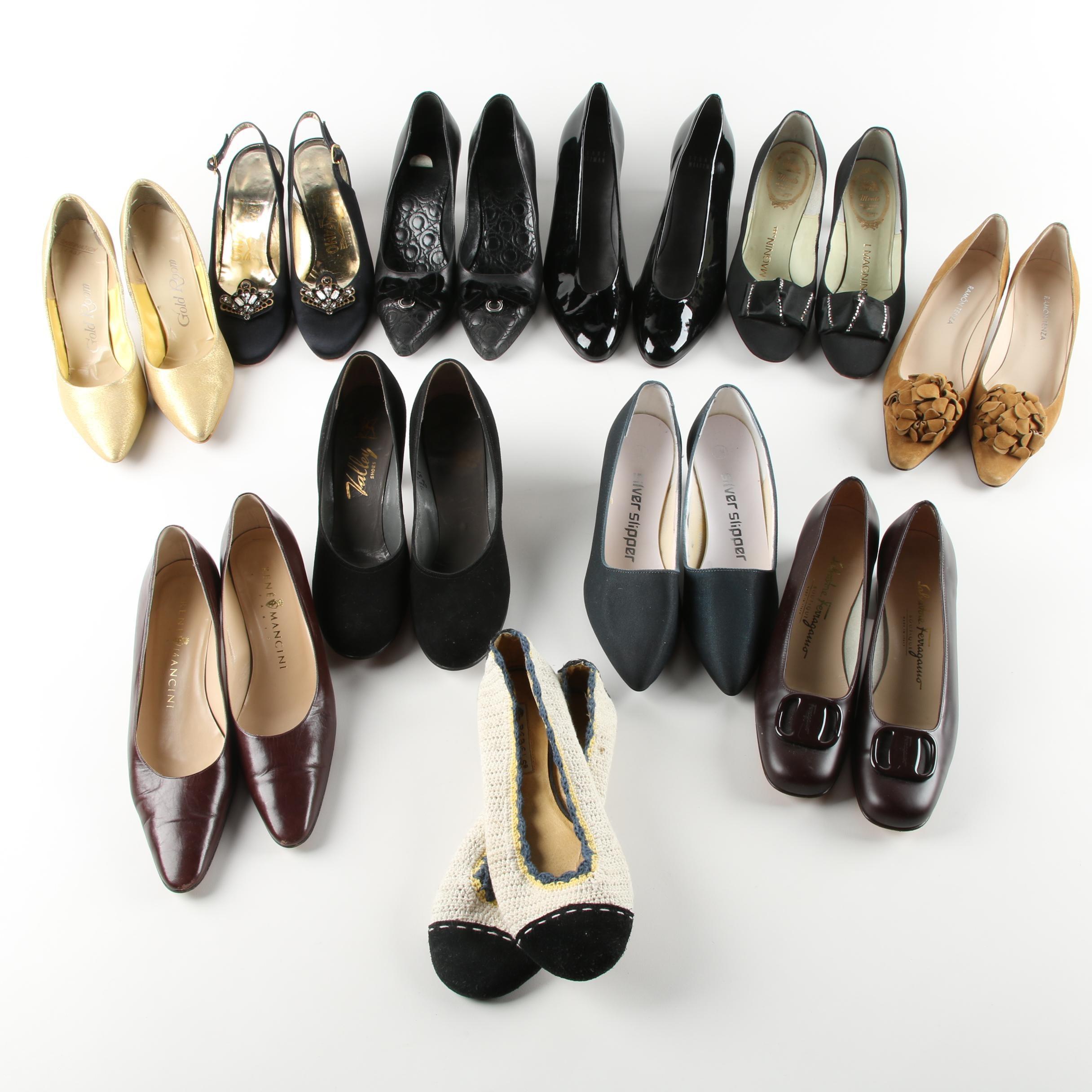 Vintage Heels Including Andrew Geller, Italy, Spain