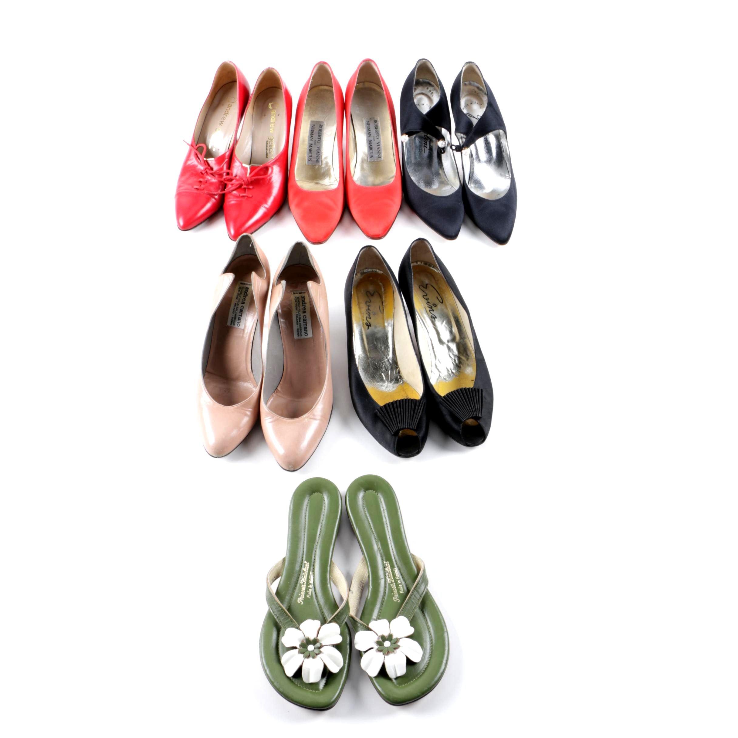Vintage Heels Including Roberto Vianni, Andrea Carrano and Andrew Geller