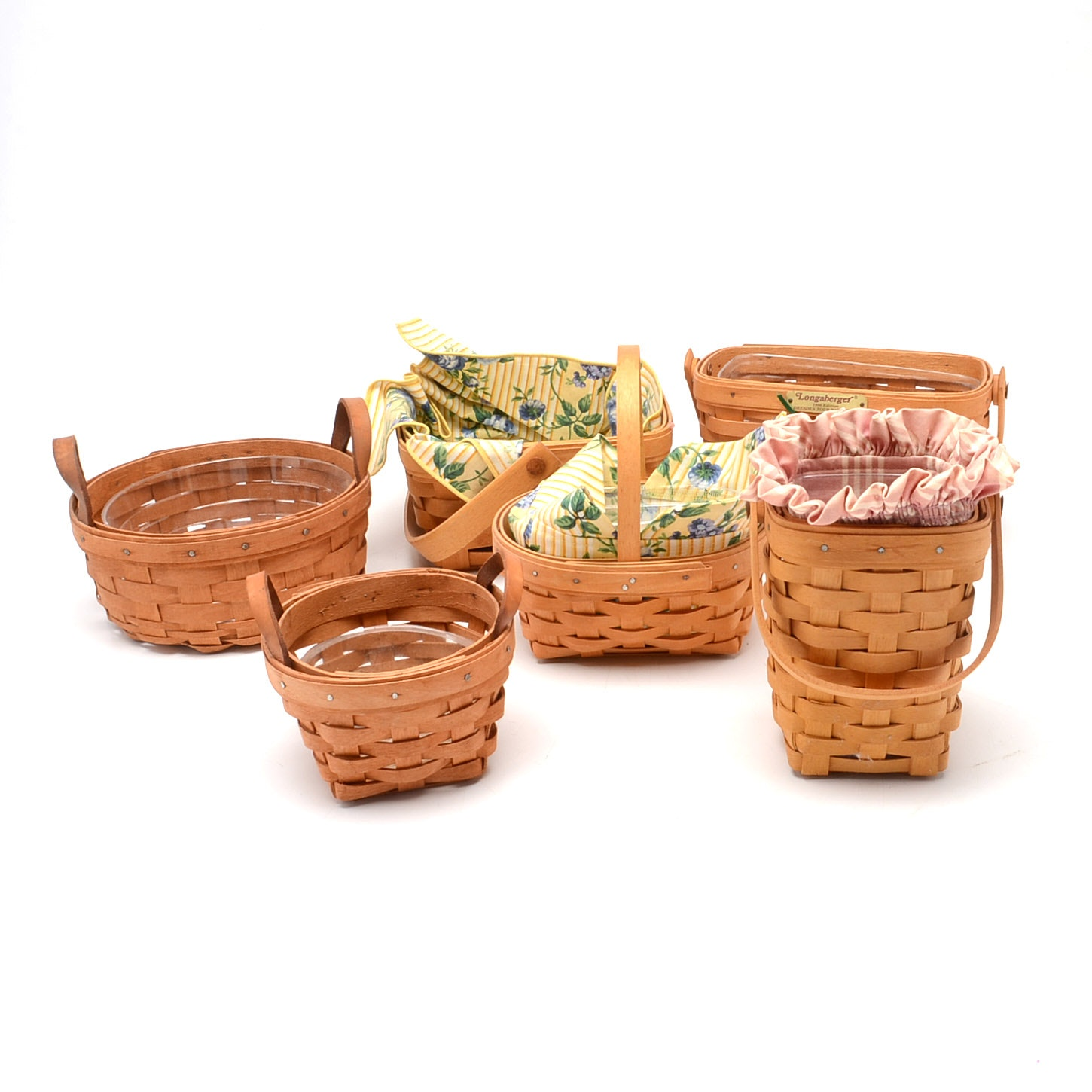 Group of Longaberger Baskets