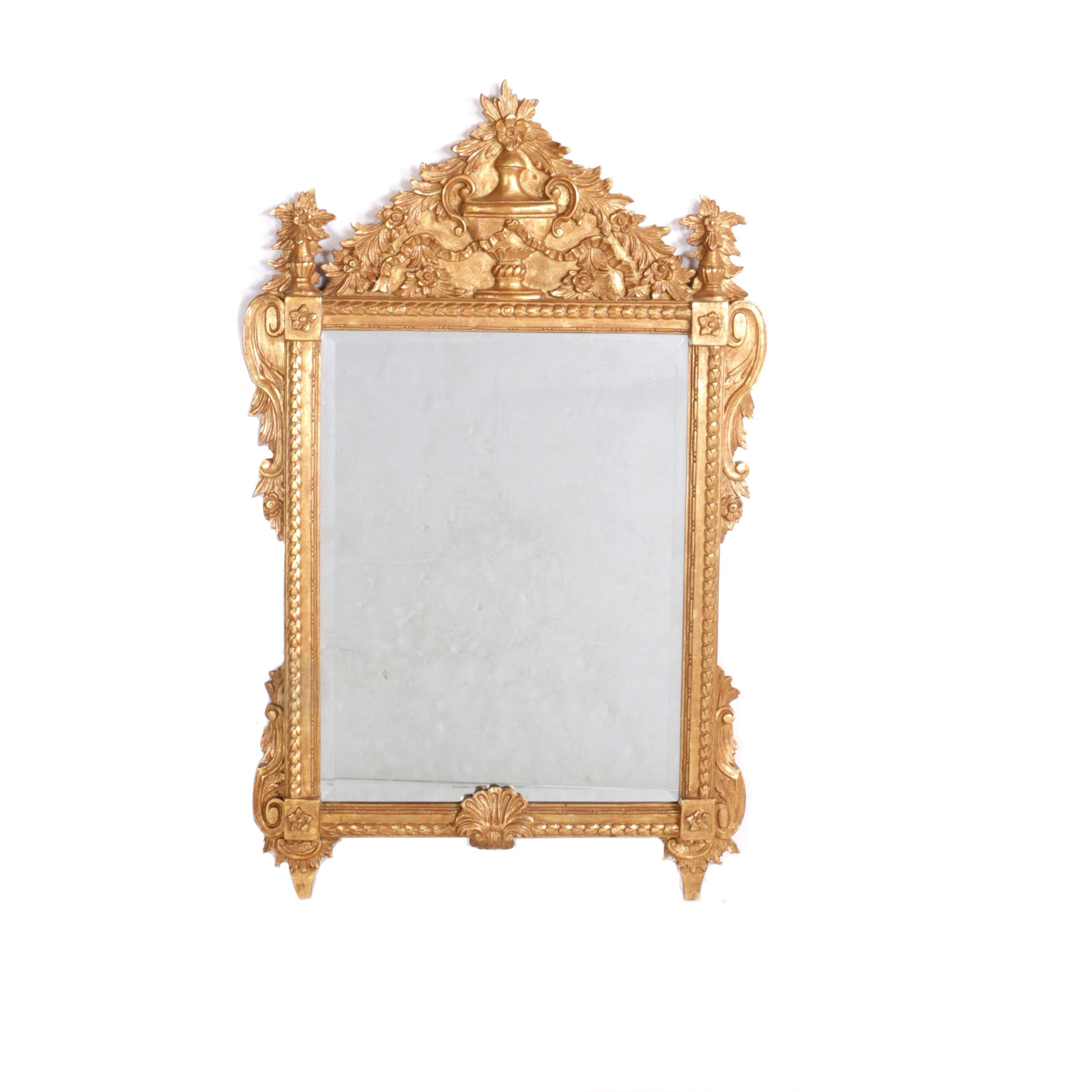 Mirror Fair Ornate Gilt Wall Mirror