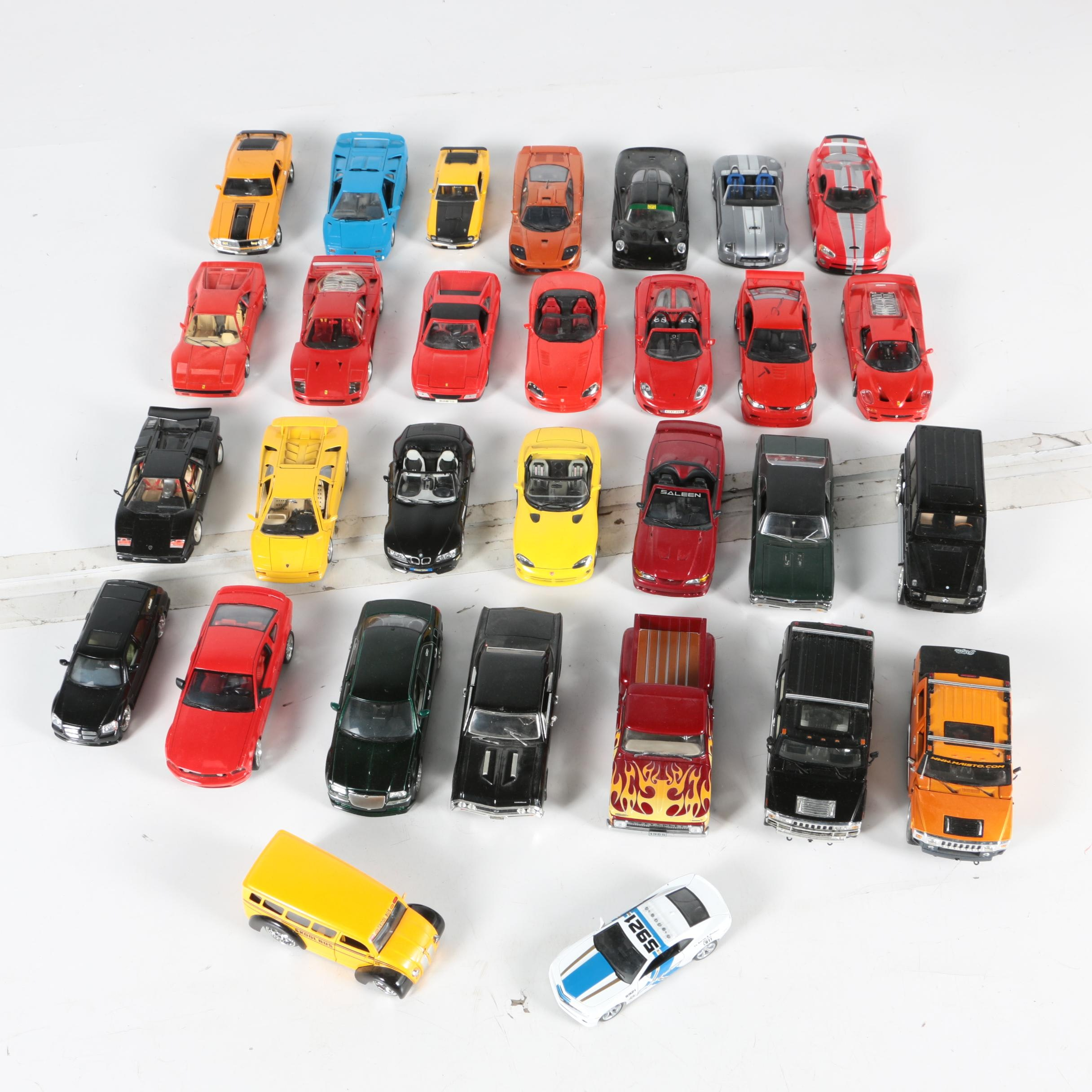 Die-Cast Car and Truck Collection
