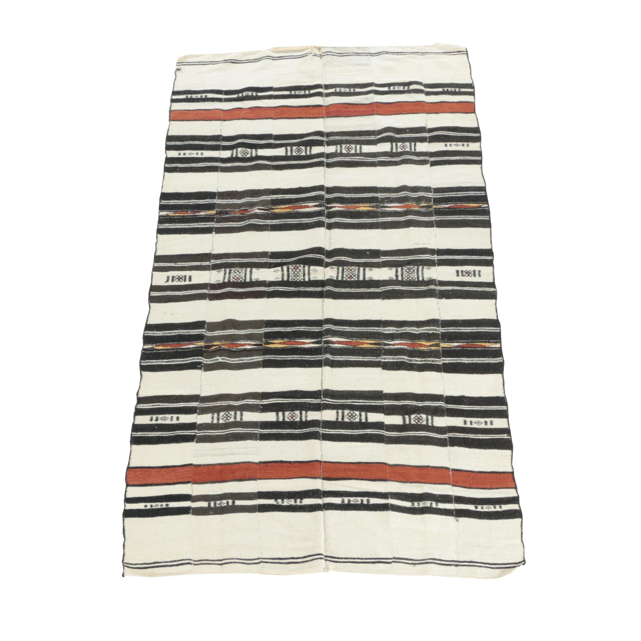 Handwoven Native American-Style Wool Area Rug