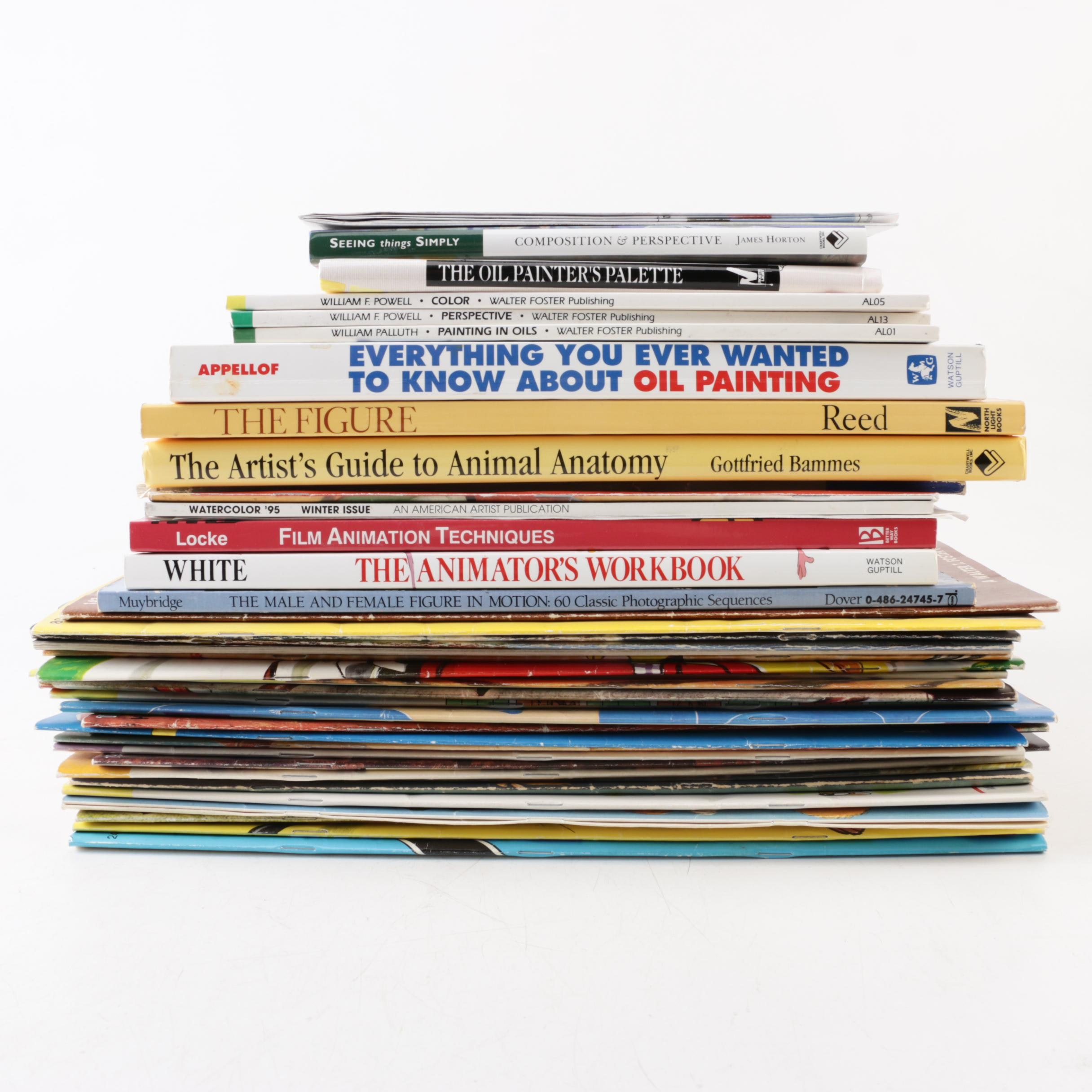How-To Books on Art and Animation