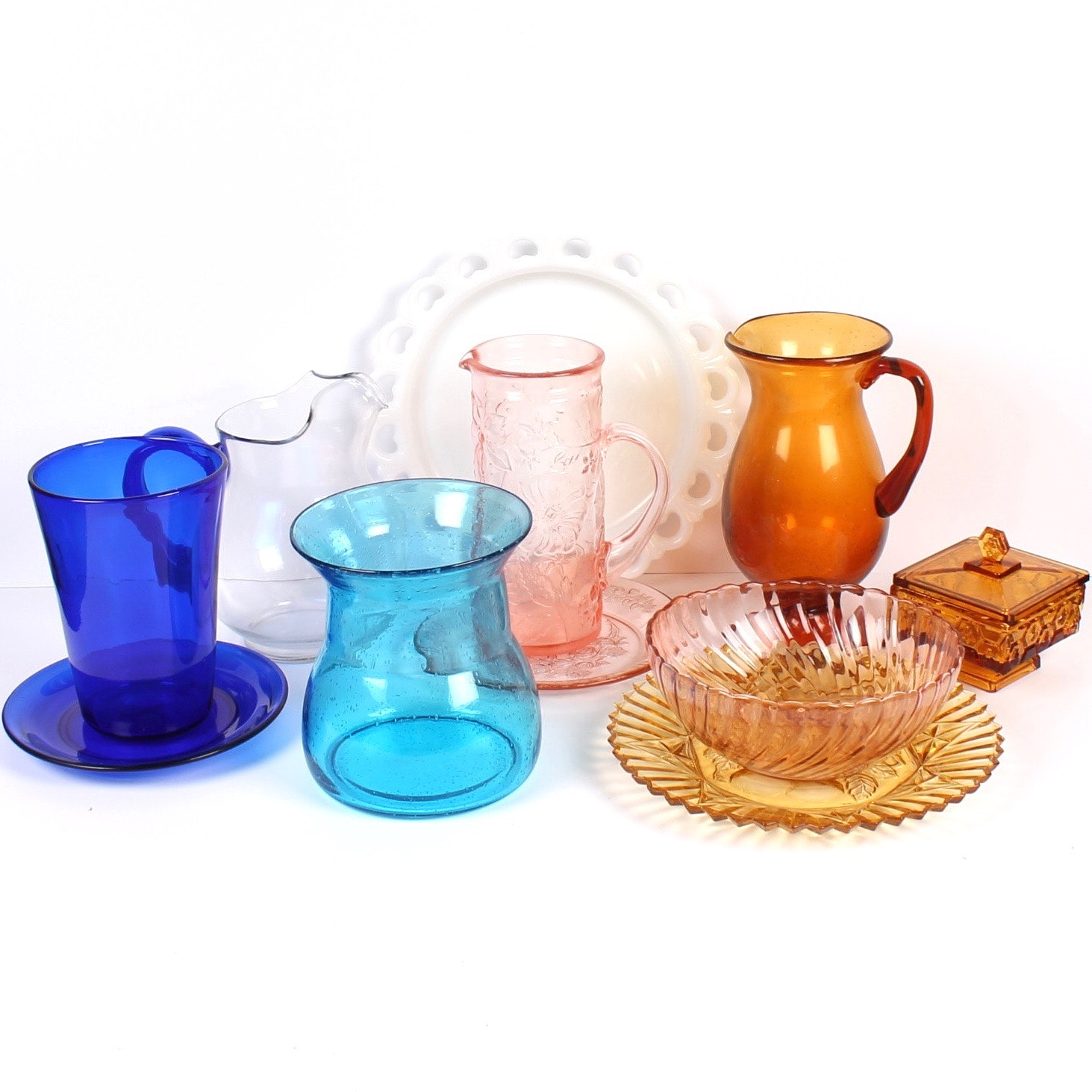 Colorful Glass Decor Collection
