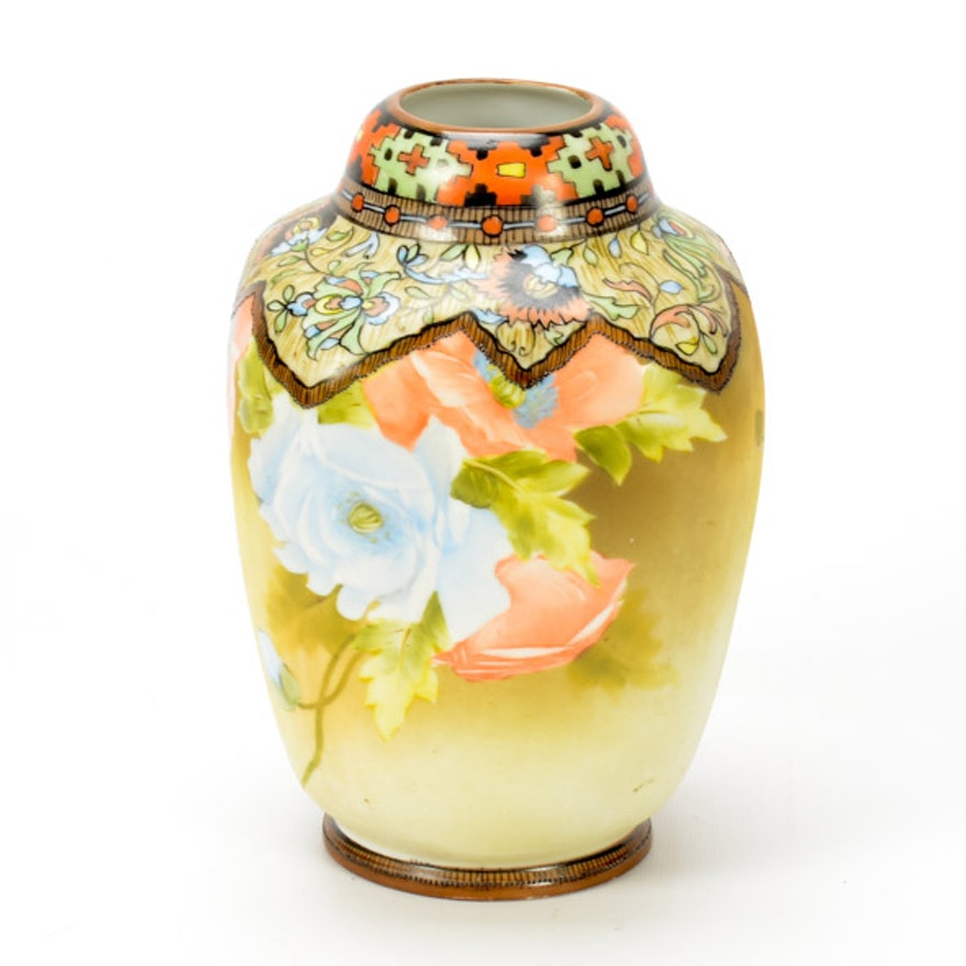 Vintage Noritake Vase Ebth