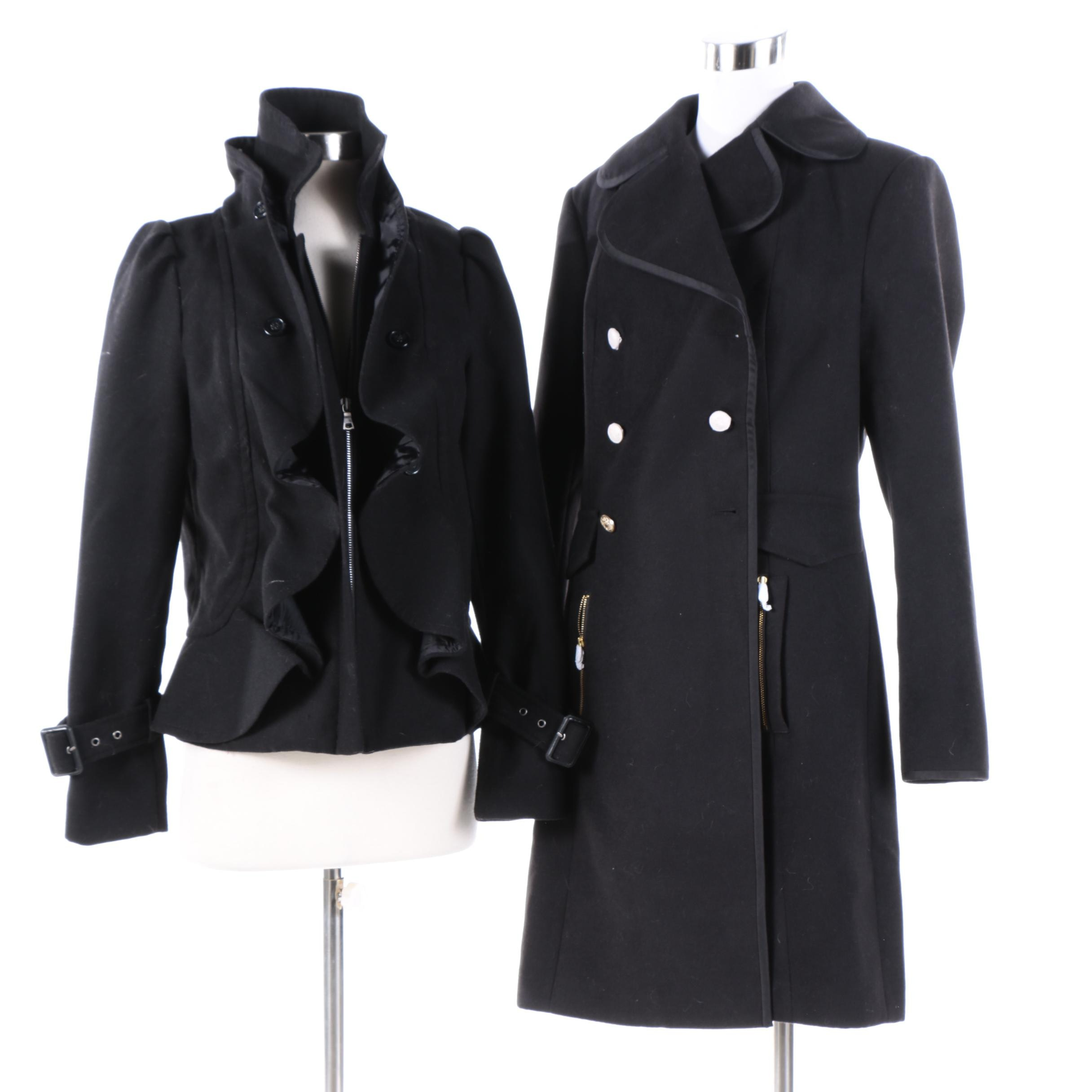 Women's G.I.L.I Black Coats