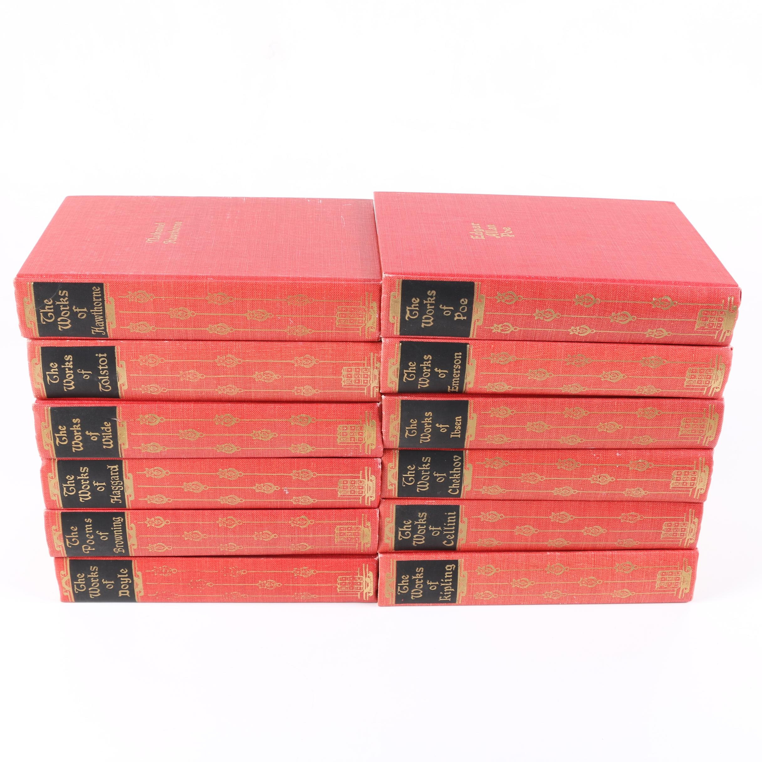 "Black's Readers Service Company ""The Works of"" Book Set"