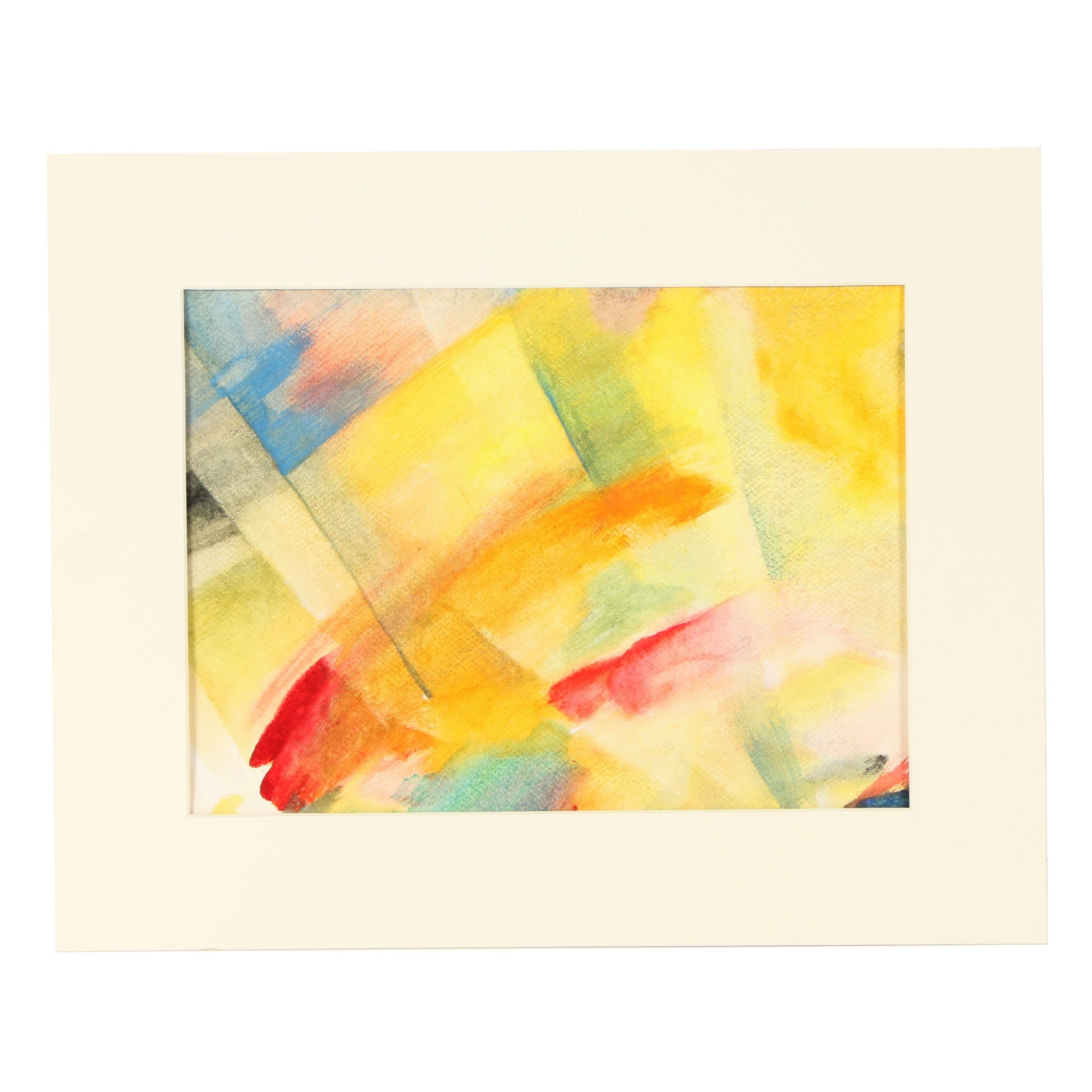 "Beth Hertz Watercolor Painting ""Before Day"""