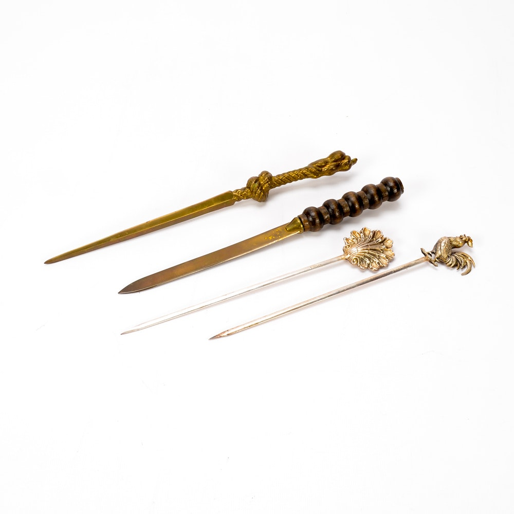 Collection of Vintage Letter Openers