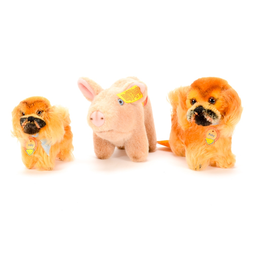 Steiff Plush Animals