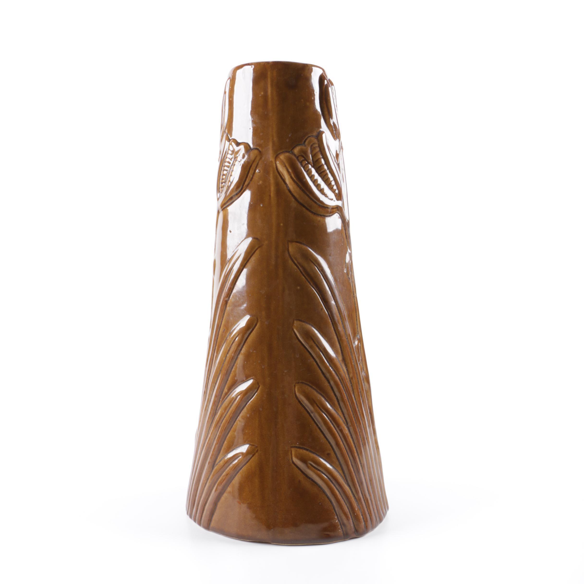 """Vintage Van Briggle """"Yucca"""" Vase"""
