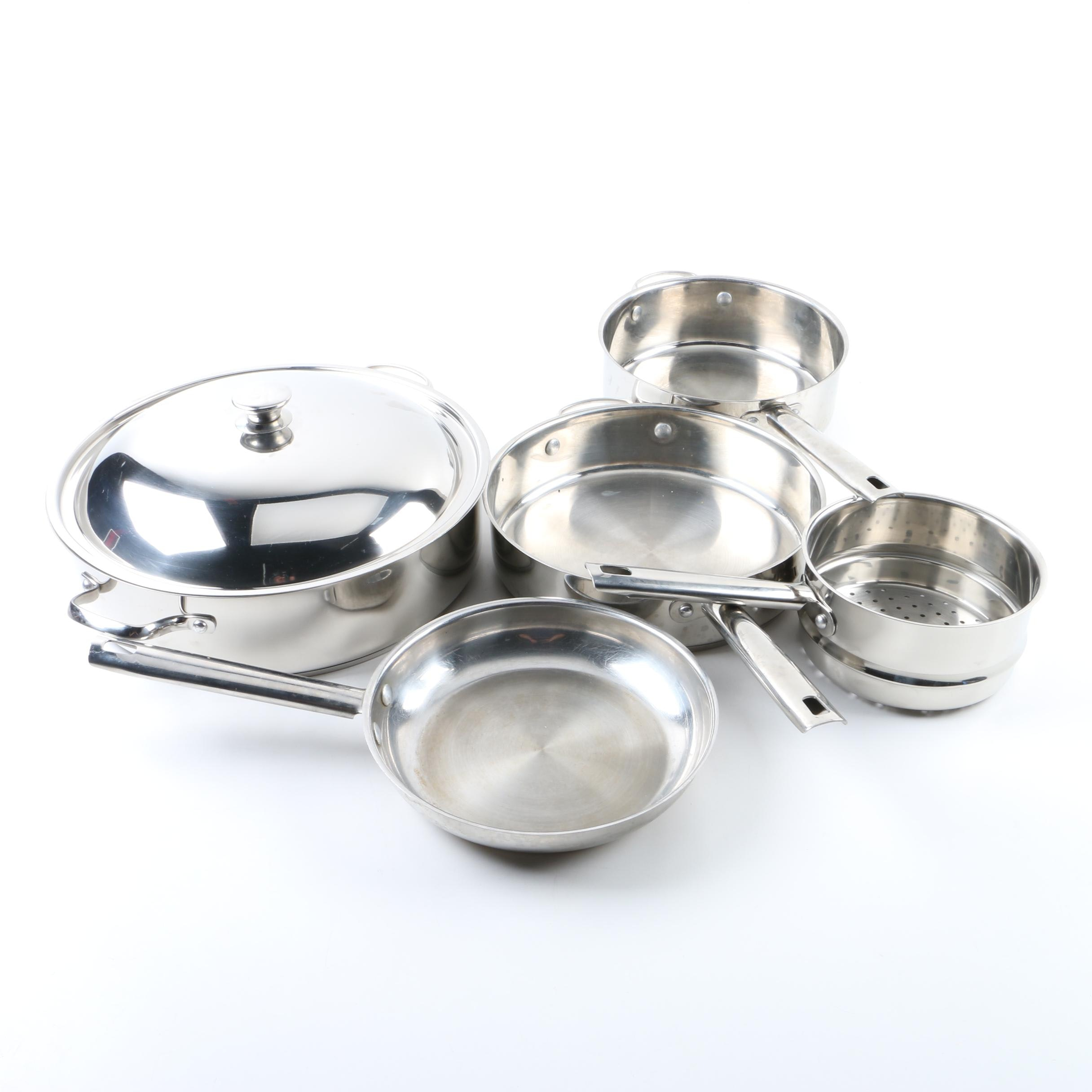 """Wolfgang Puck """"Bistro"""" Pots and Pans"""