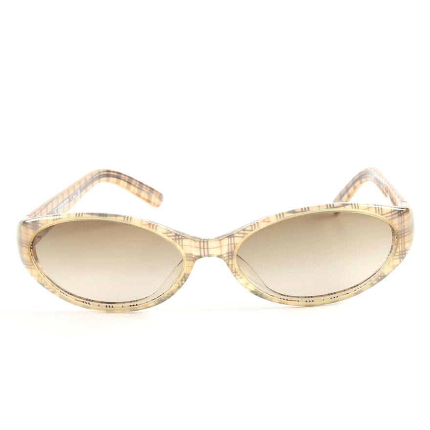 732dd72691b6 Burberry by Safilo Plaid Check Sunglasses   EBTH