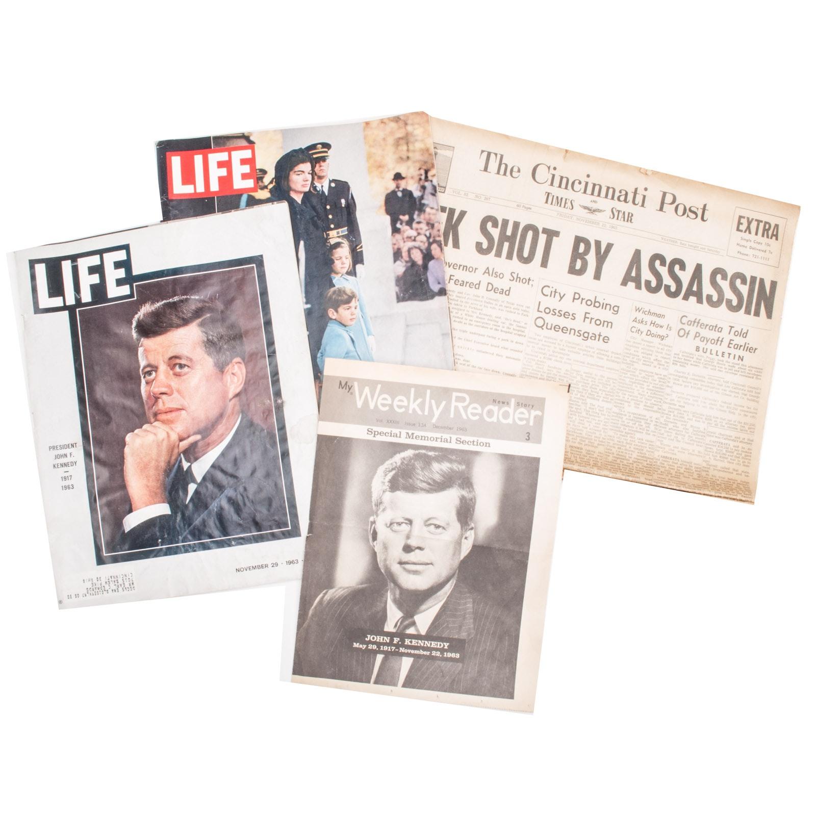 Vintage JFK Ephemera