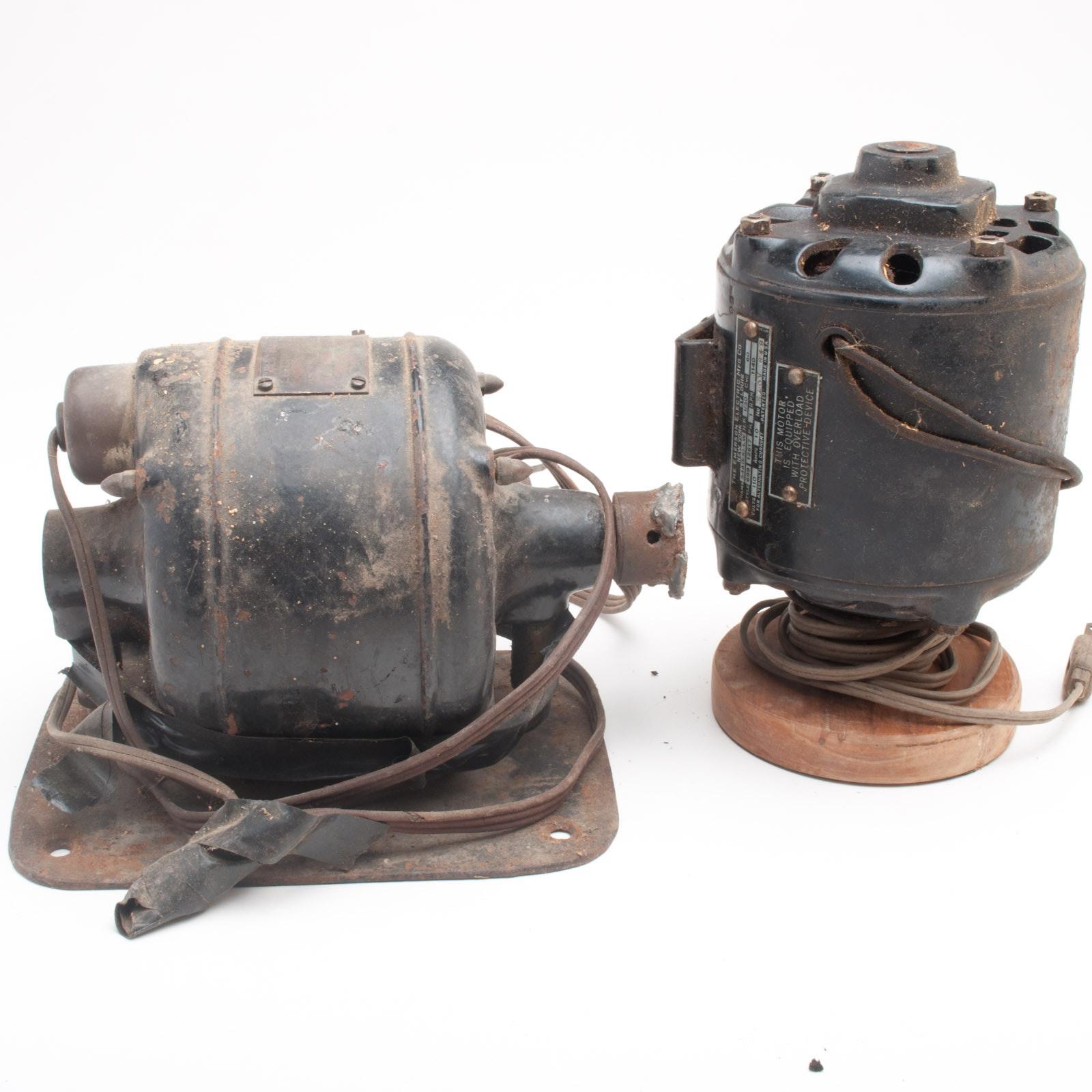 Pair of Electric Motors