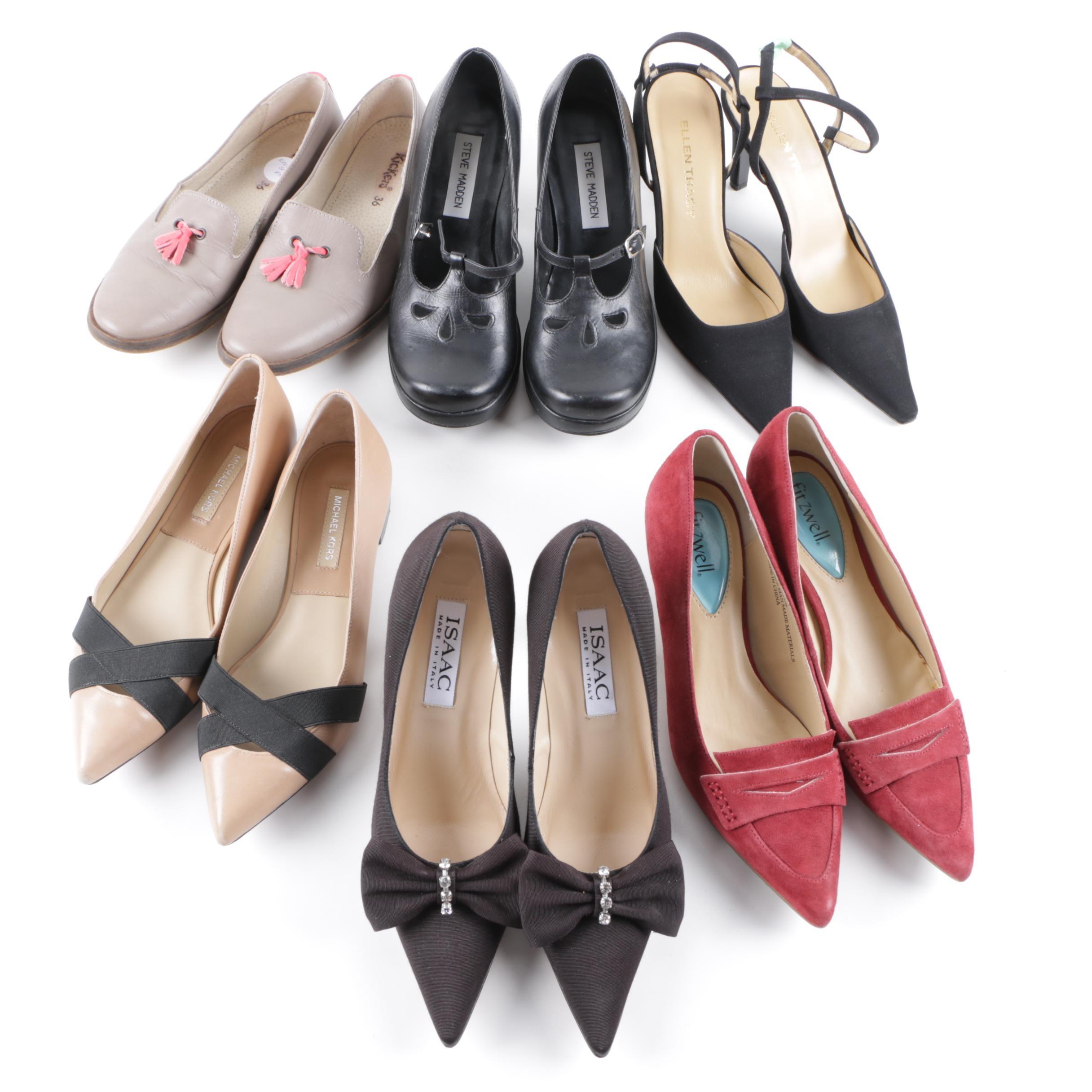 Women's Designer Shoes Including Michael Kors and Steve Madden