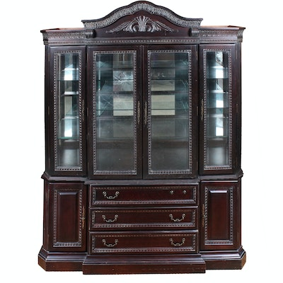 Mahogany Collezione Europa China Cabinet - Home Furnishings, Housewares, Décor & More (18COL055) : EBTH