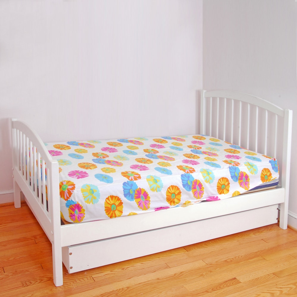 Twin Bed Frame and Trundle