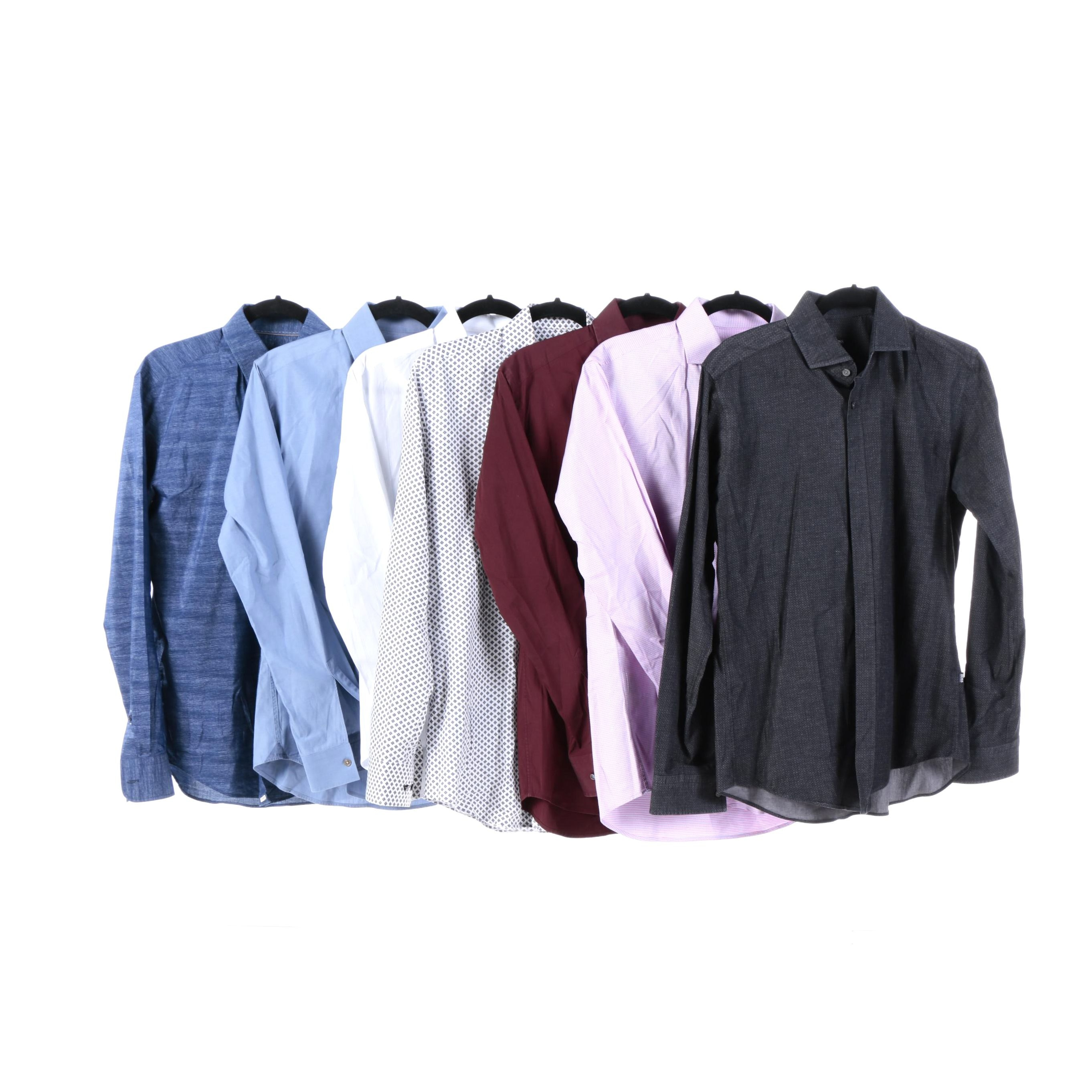 Men's Hugo Boss Dress Shirts