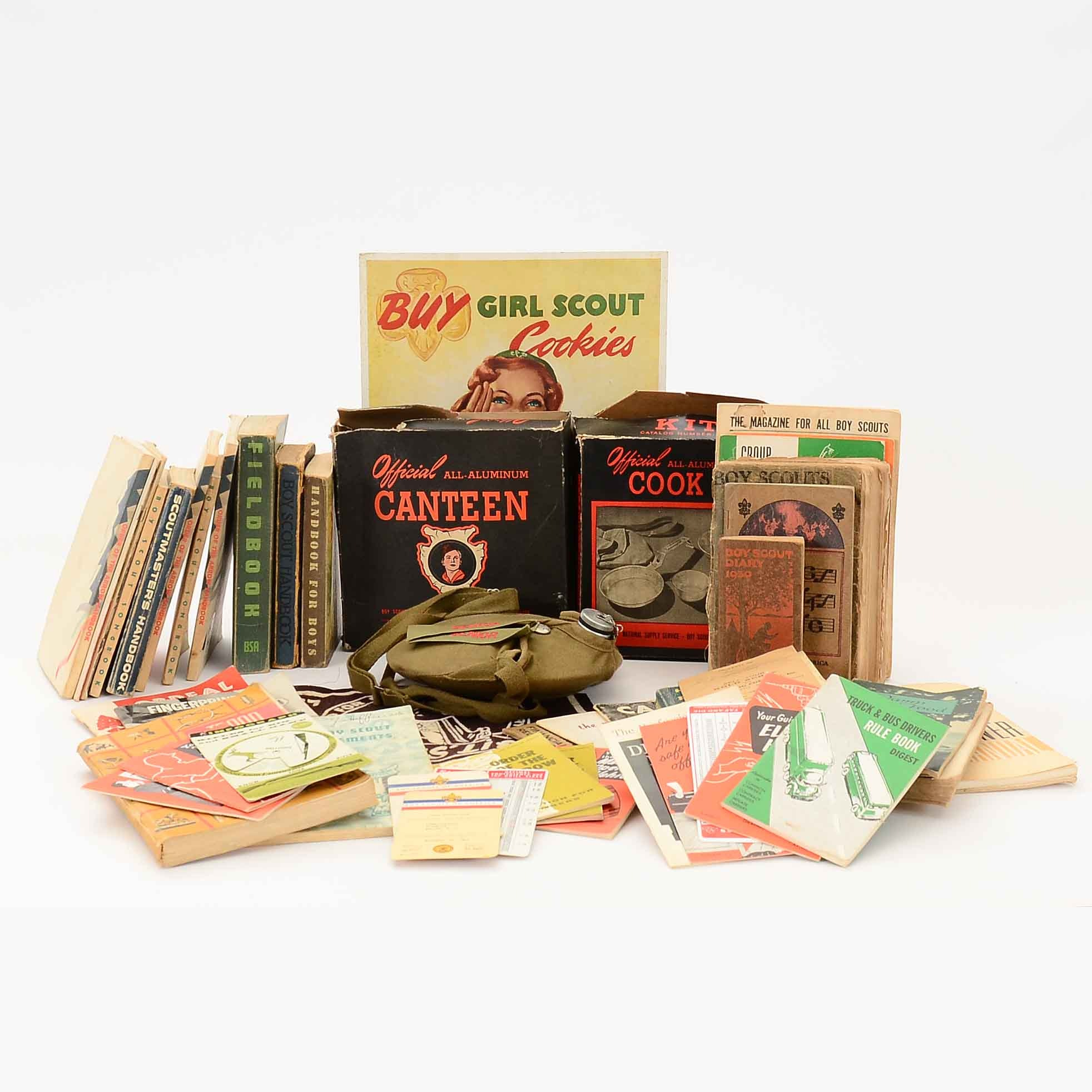 Vintage Boy Scout Memorabilia and Ephemera