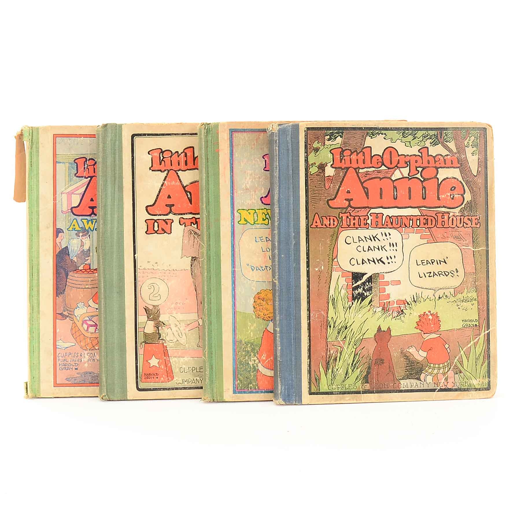 "Vintage ""Little Orphan Annie"" Readers"