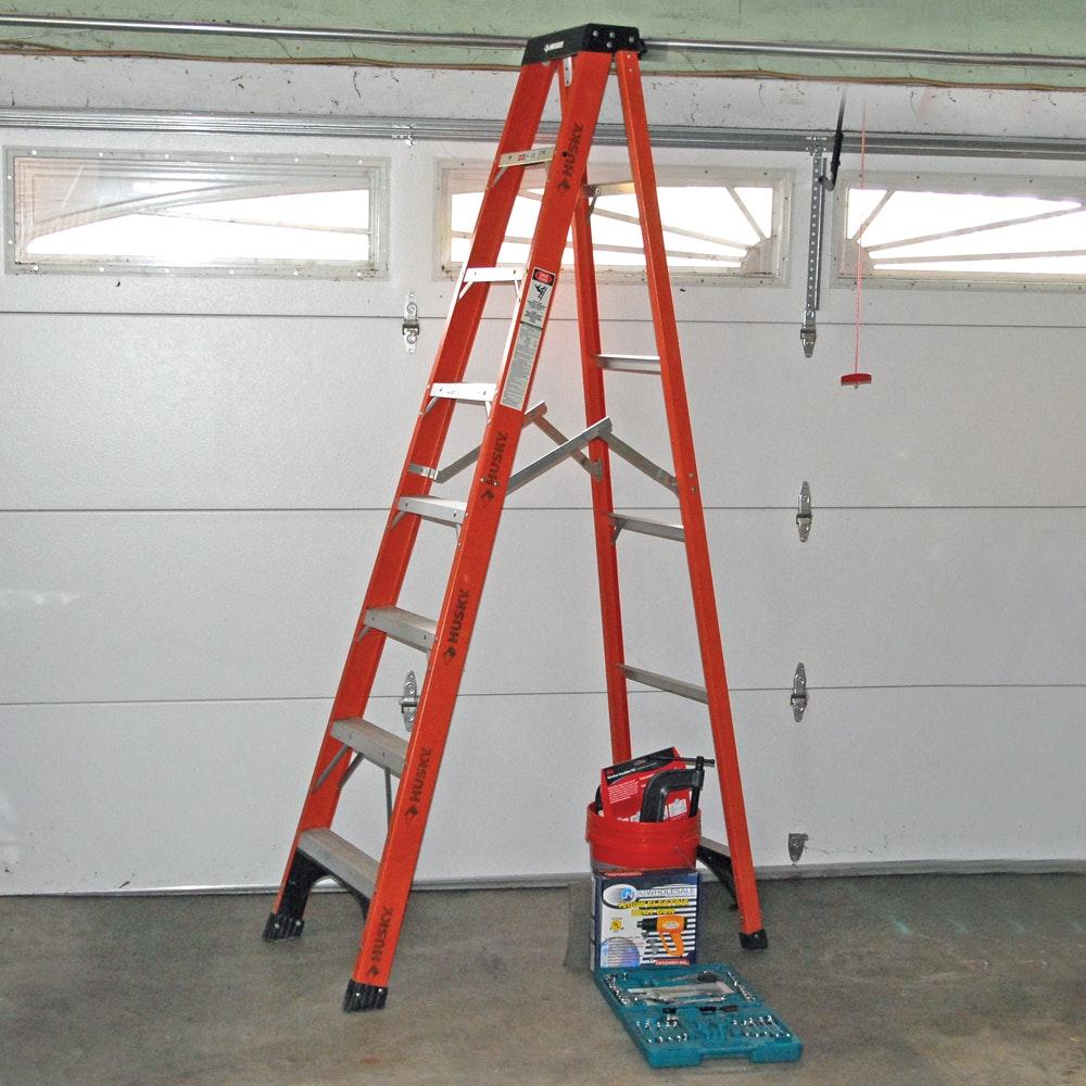 Husky A-Frame Ladder and More