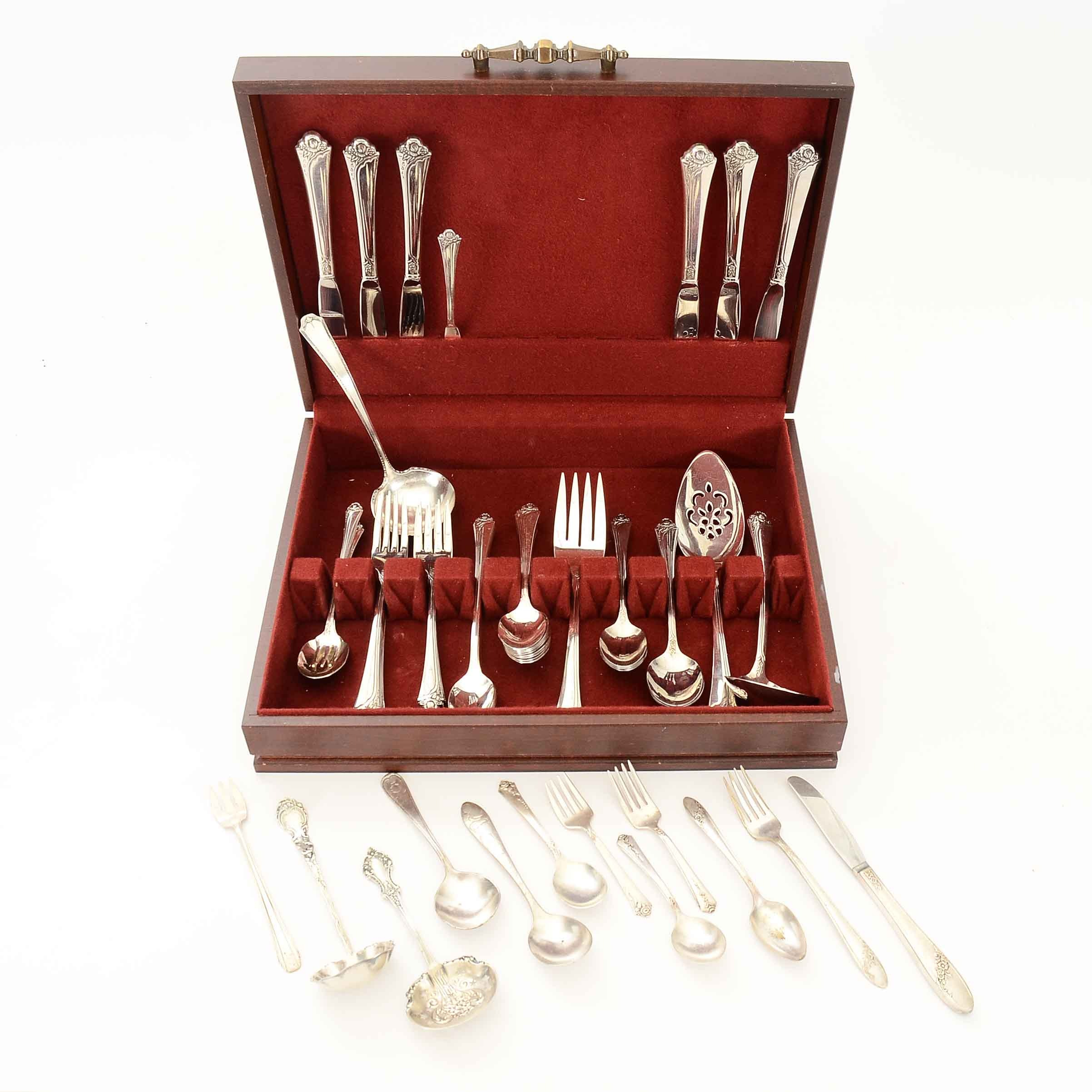 Collection of Oneida Community Silver Plate Flatware and More