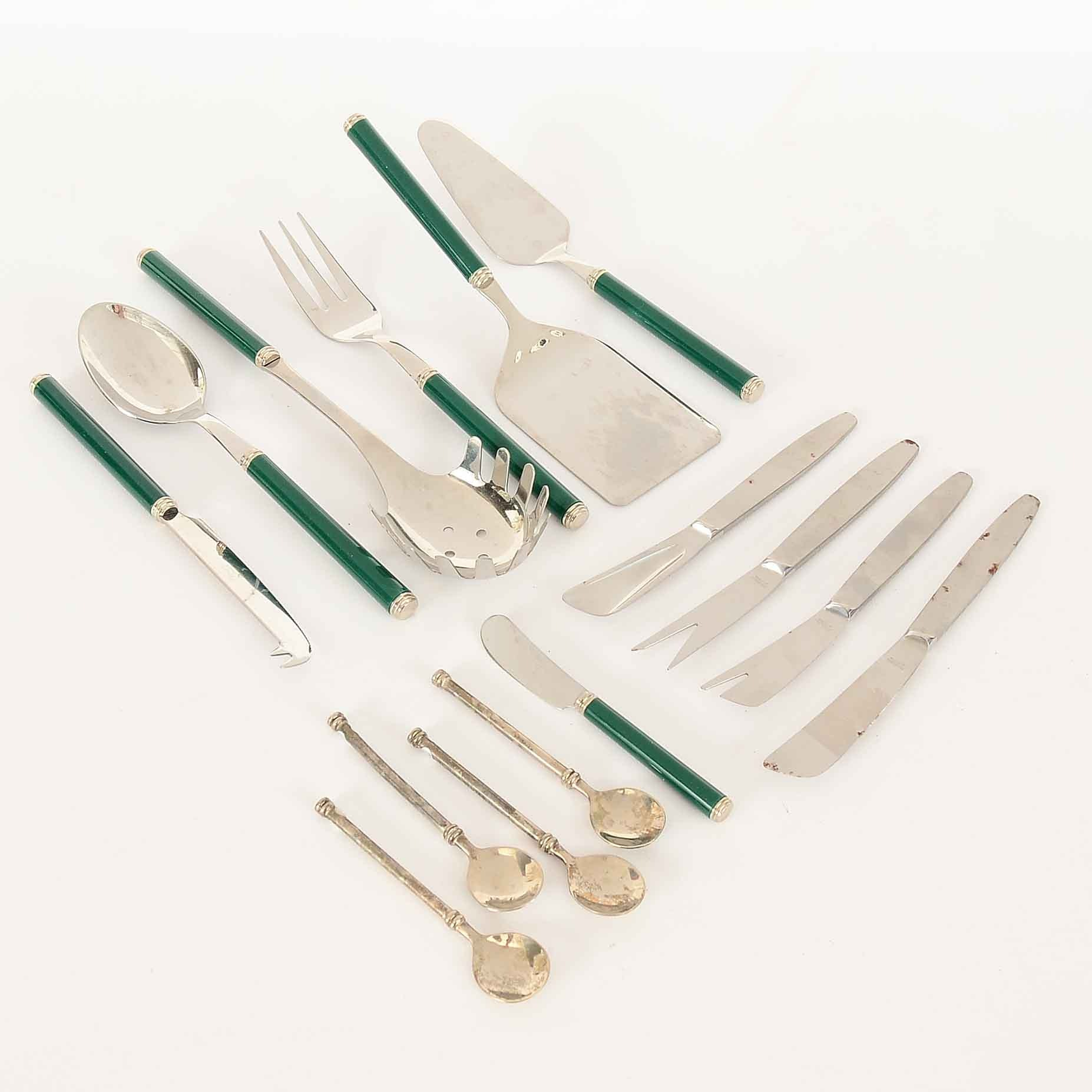 Assorted Flatware and Serveware
