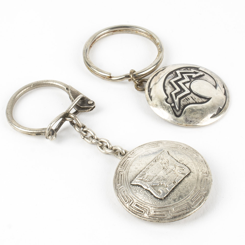 Sterling Silver Keychains