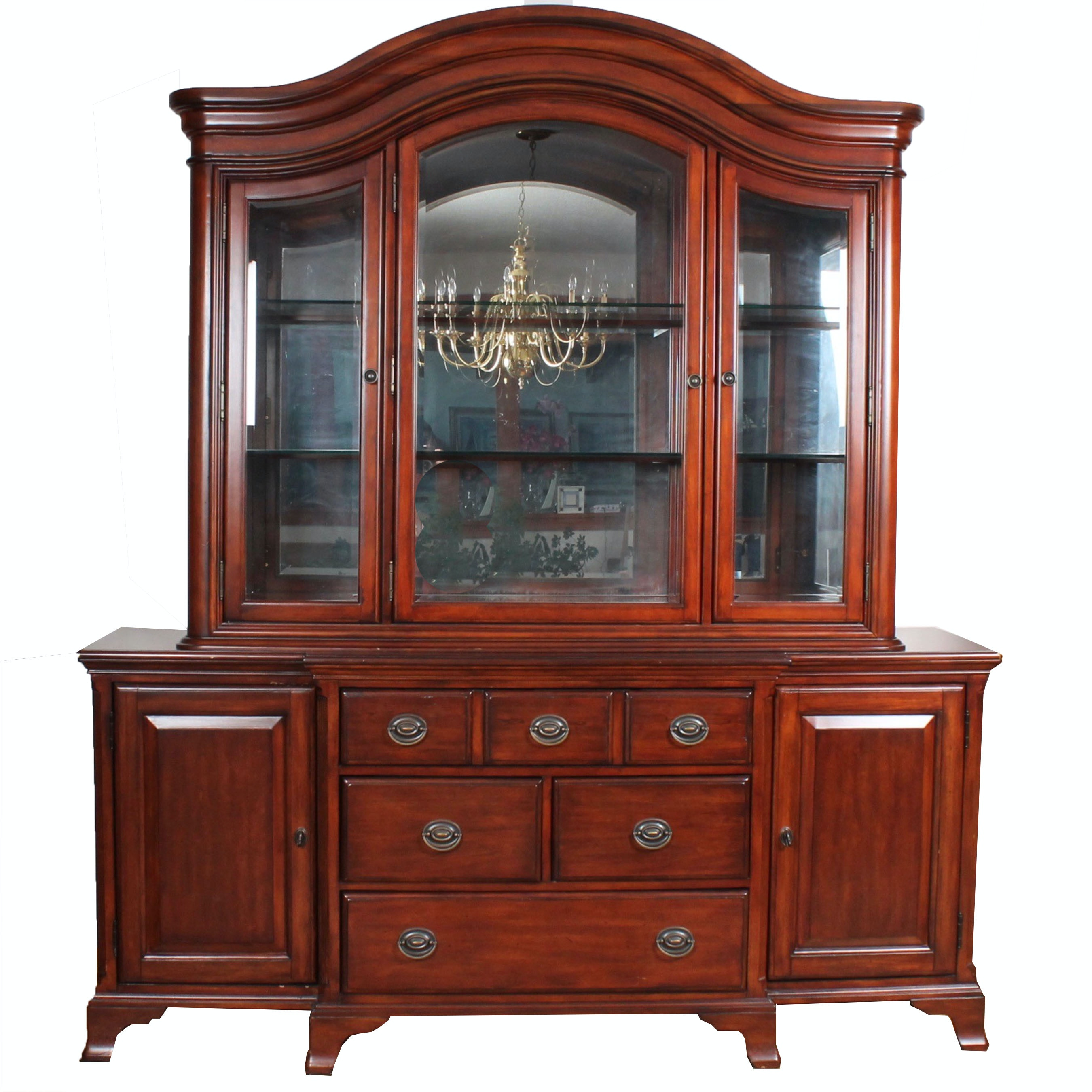 Chris Madden Solid Wood China Cabinet