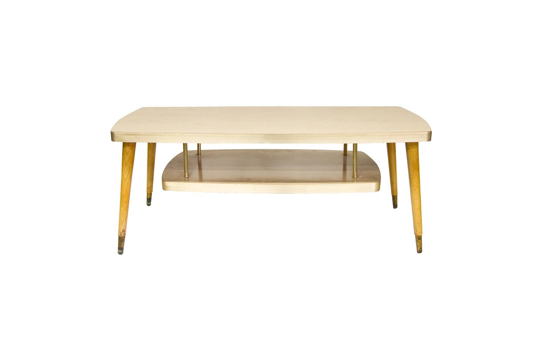 Mid Century Modern Laminate Coffee Table