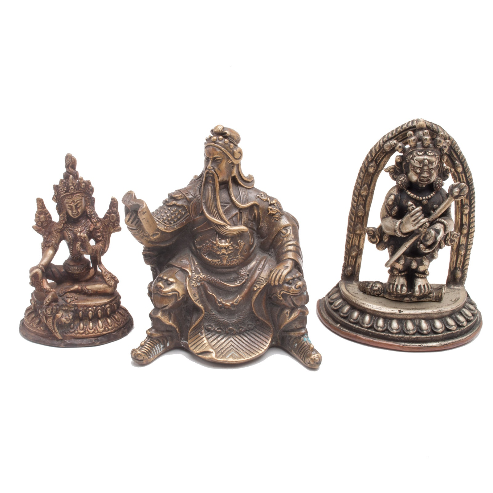 Collection of Asian Figural Decor