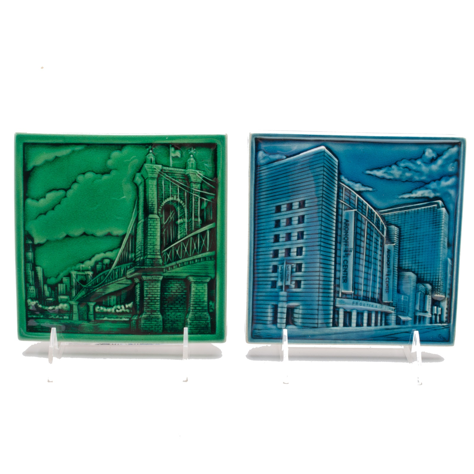 Rookwood Pottery Tile for Cincinnati Children's Hospital Medical Center